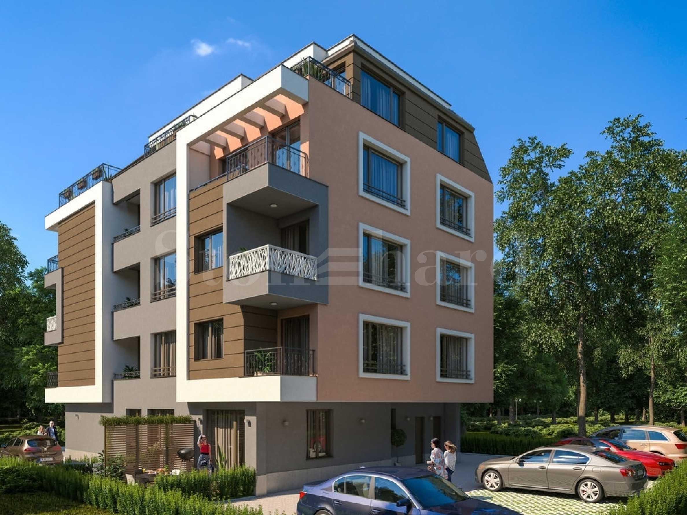 Апартаменти ново строителство на 100 метра от морето, кв. Сарафово1 - Stonehard