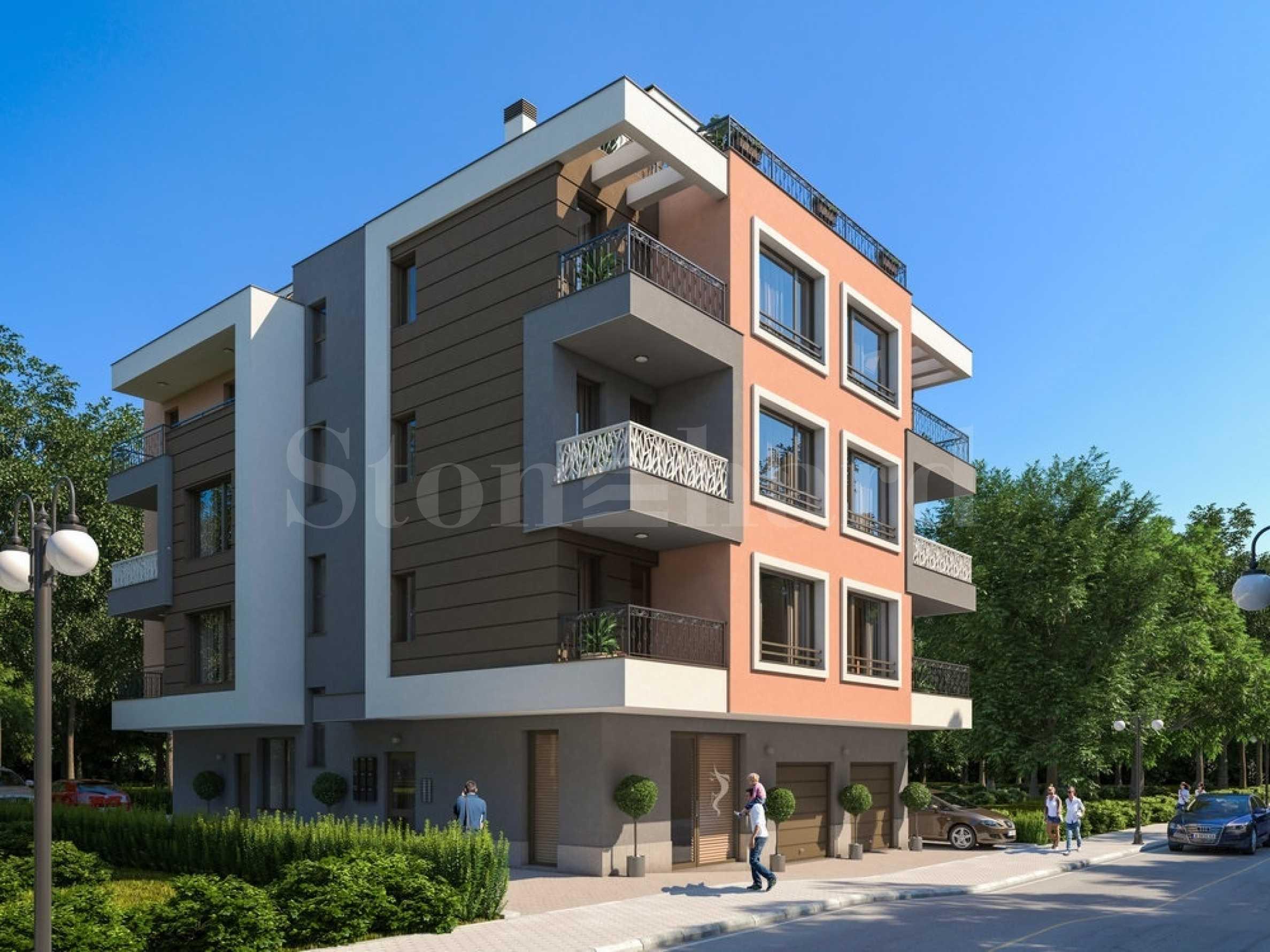 Апартаменти ново строителство на 100 метра от морето, кв. Сарафово2 - Stonehard