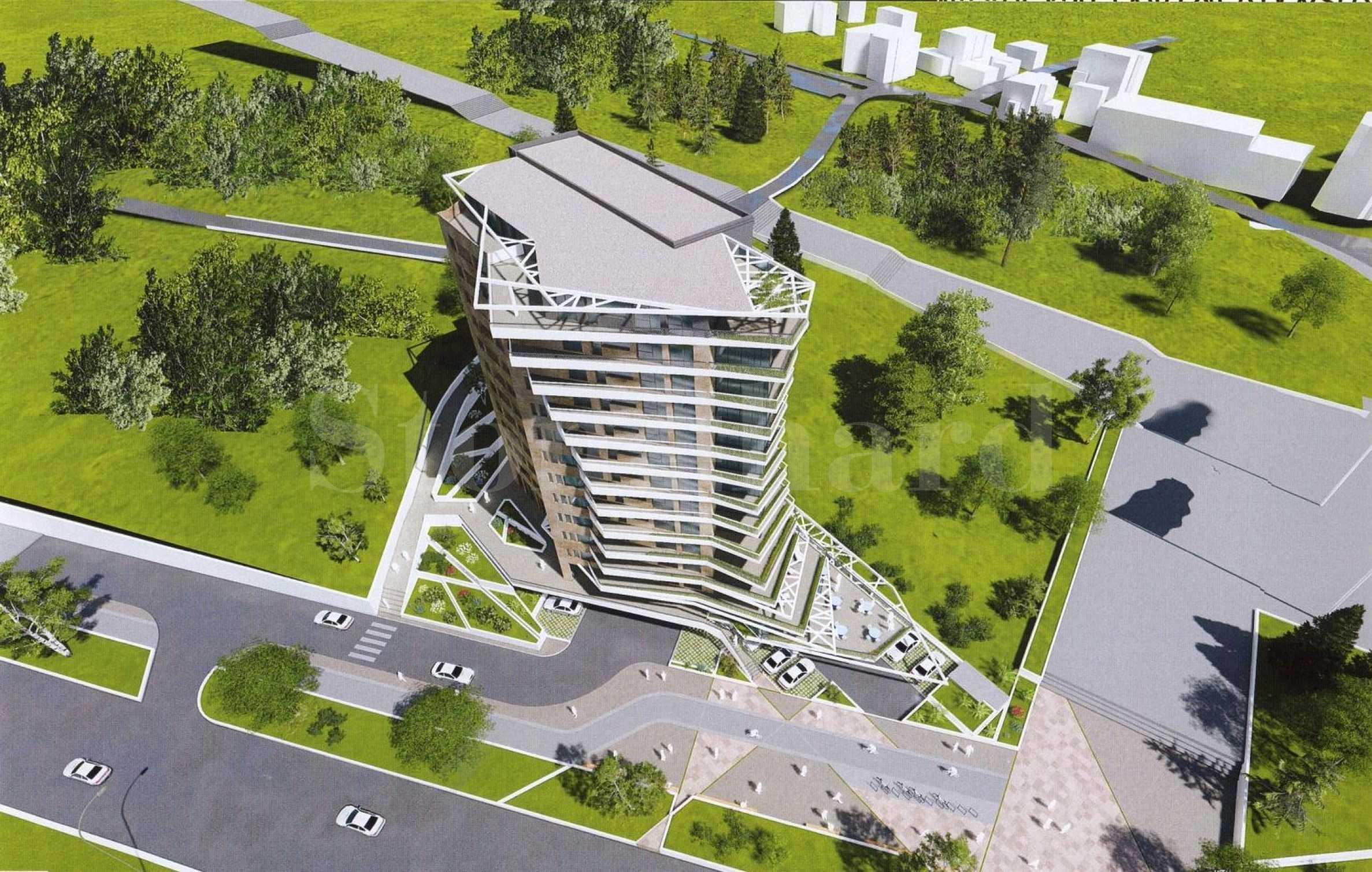 Нова уникална жилищна сграда в кв. Бриз2 - Stonehard