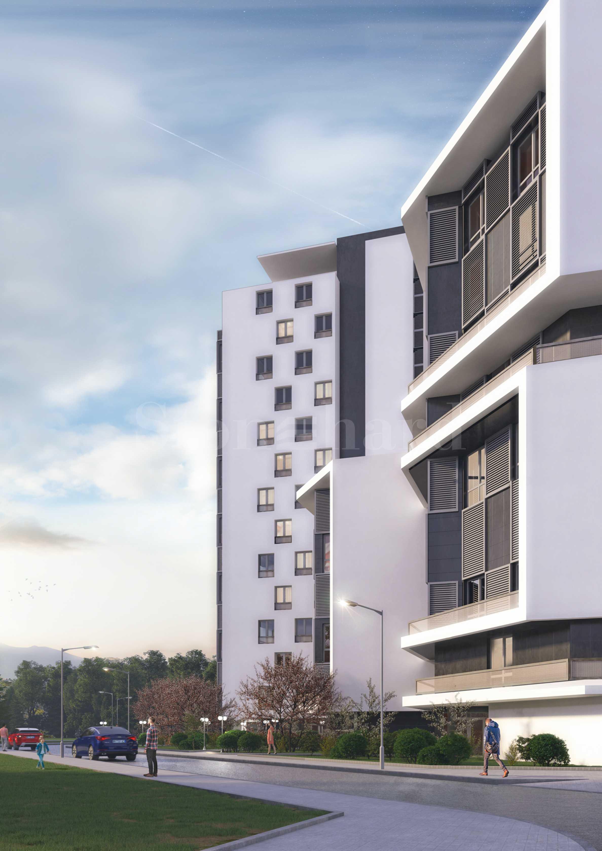 Масштабный проект жилого комплекса вблизи центра Софии в тихом районе 2 - Stonehard