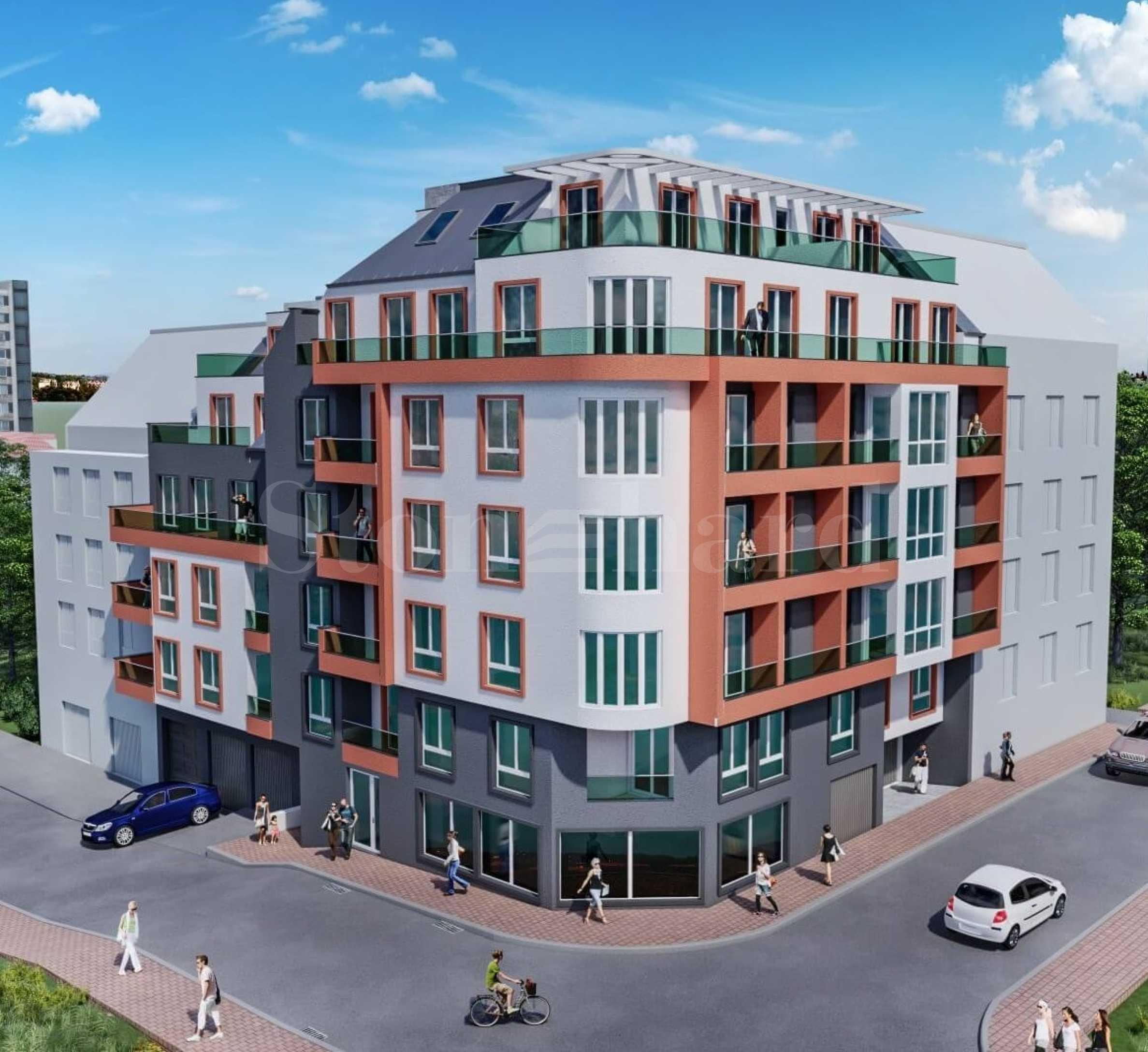 Нова жилищна сграда в кв. Трошево1 - Stonehard