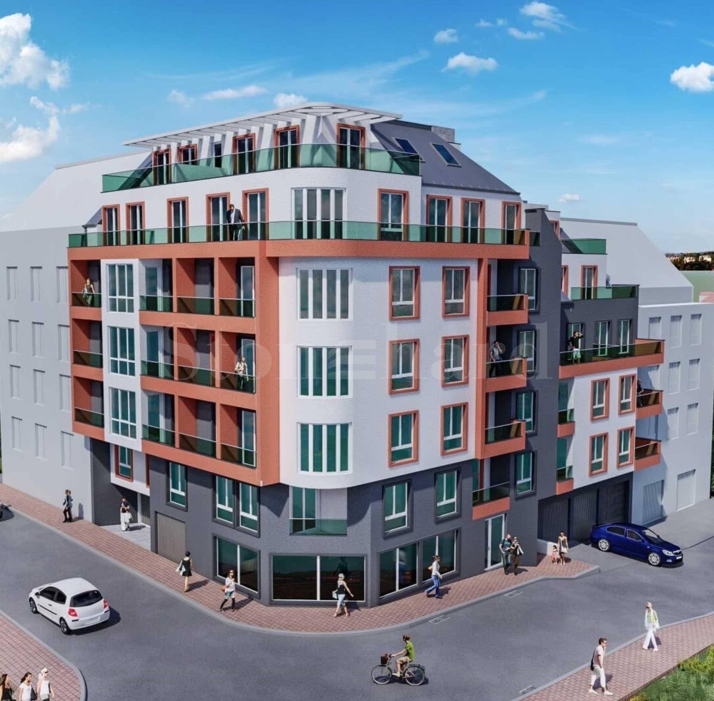 Нова жилищна сграда в кв. Трошево2 - Stonehard