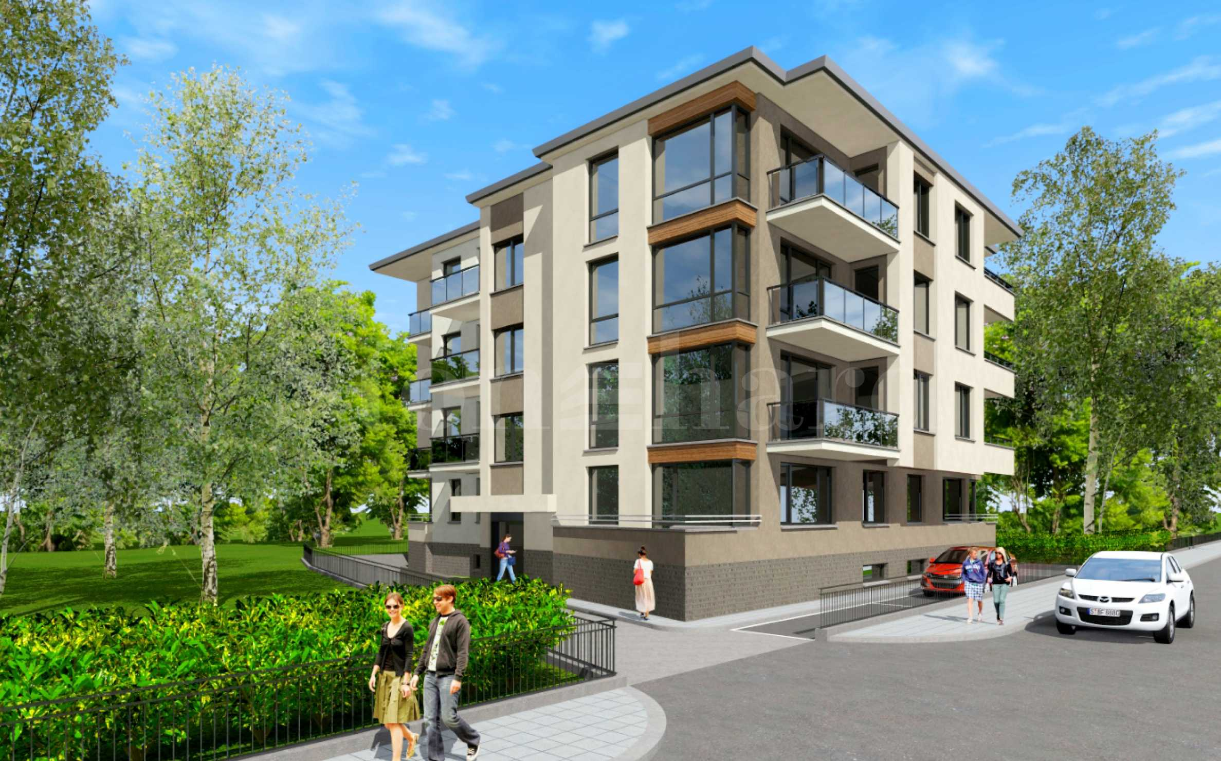 A limited number of apartments priced from 653 € / m? to the Rowing Canal1 - Stonehard