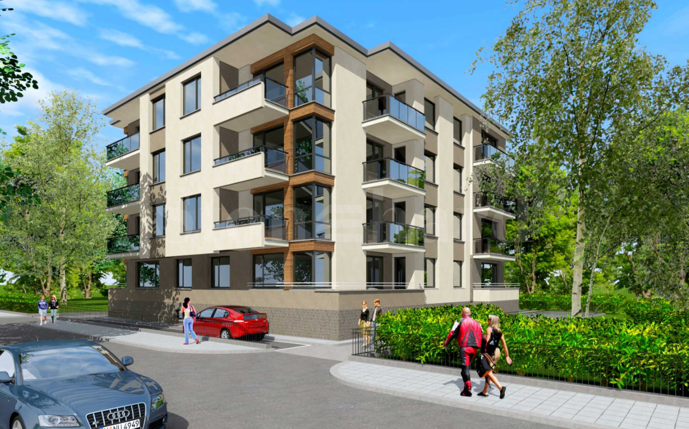 A limited number of apartments priced from 653 € / m? to the Rowing Canal2 - Stonehard