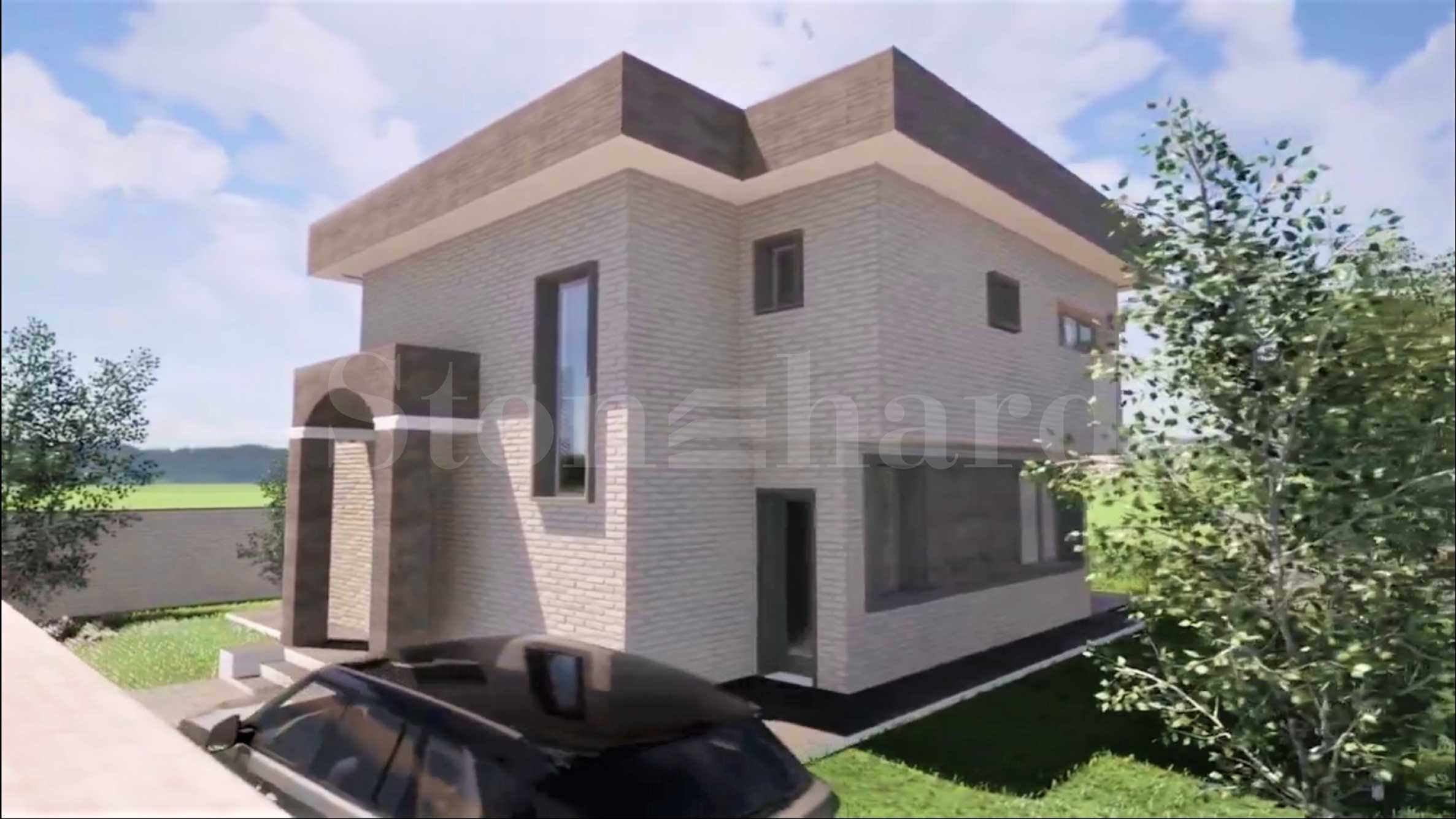 Modern seaside houses with gardens and parking spaces in Burgas2 - Stonehard