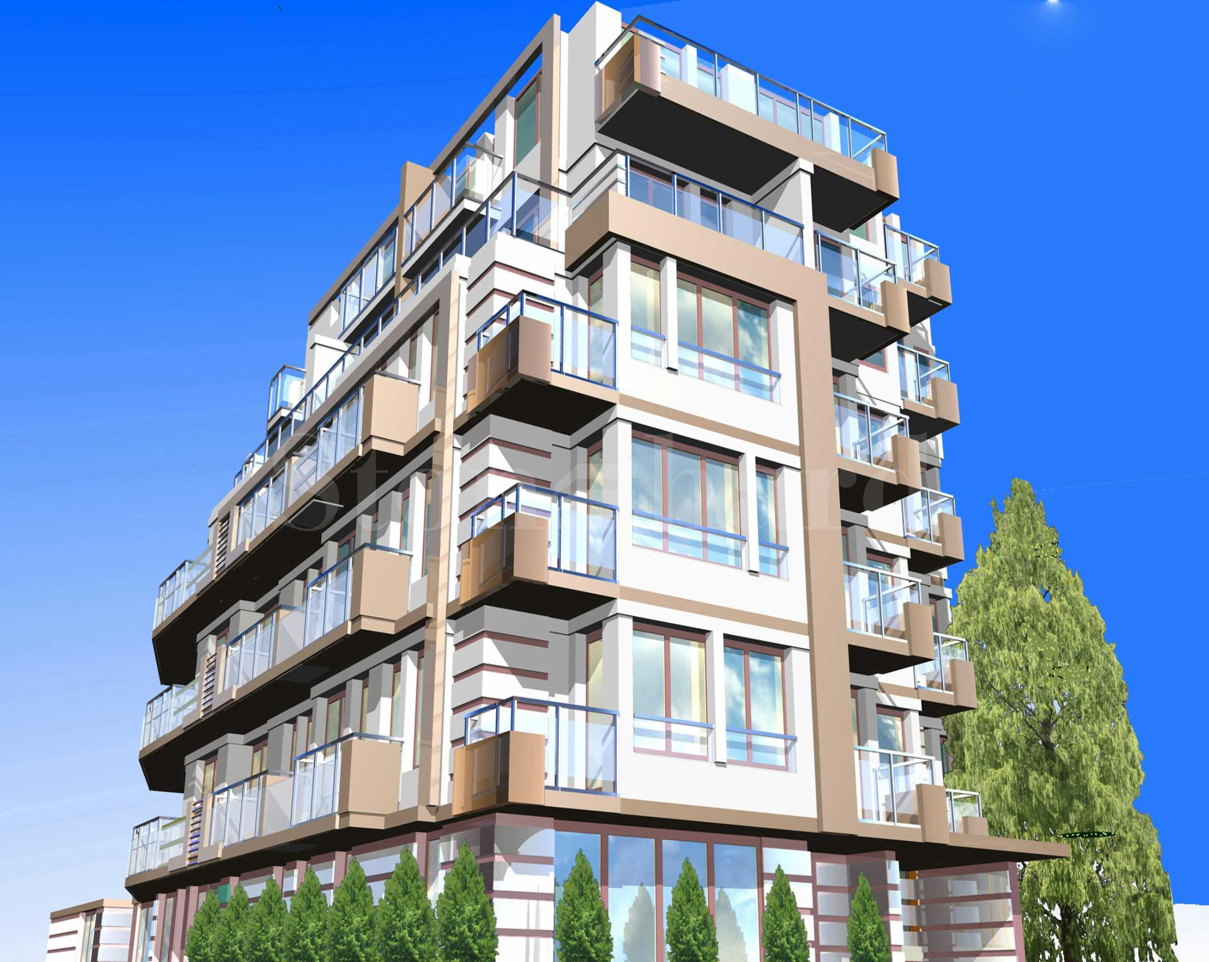 Residential building in Manastiriski Livadi district with different types of apartments for sale1 - Stonehard