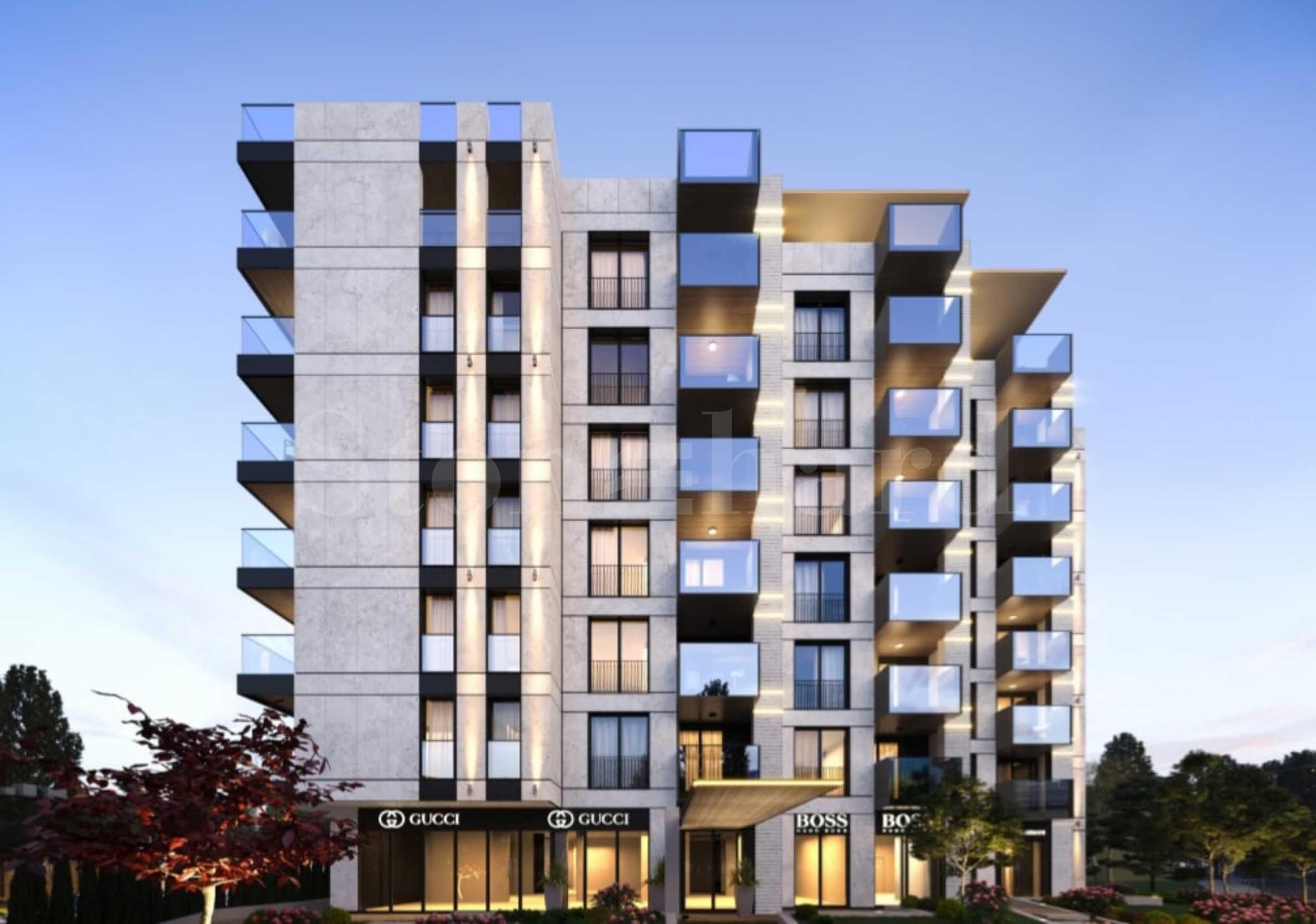 Residential SMART building near metro stations and parks in Izgrev quarter2 - Stonehard