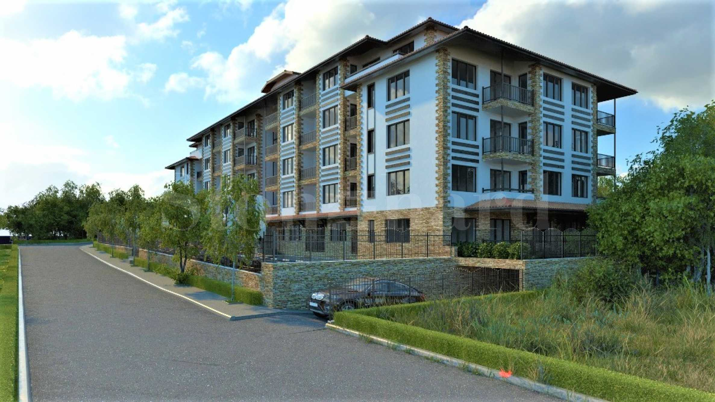 Apartments in the newest phase of the green complex among the oak forest2 - Stonehard