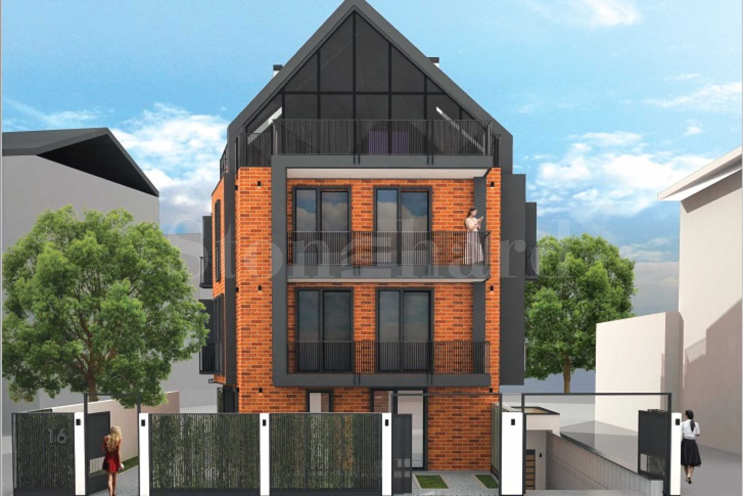 Boutique building with only 5 apartments next to Joliot Curie Metro Station2 - Stonehard