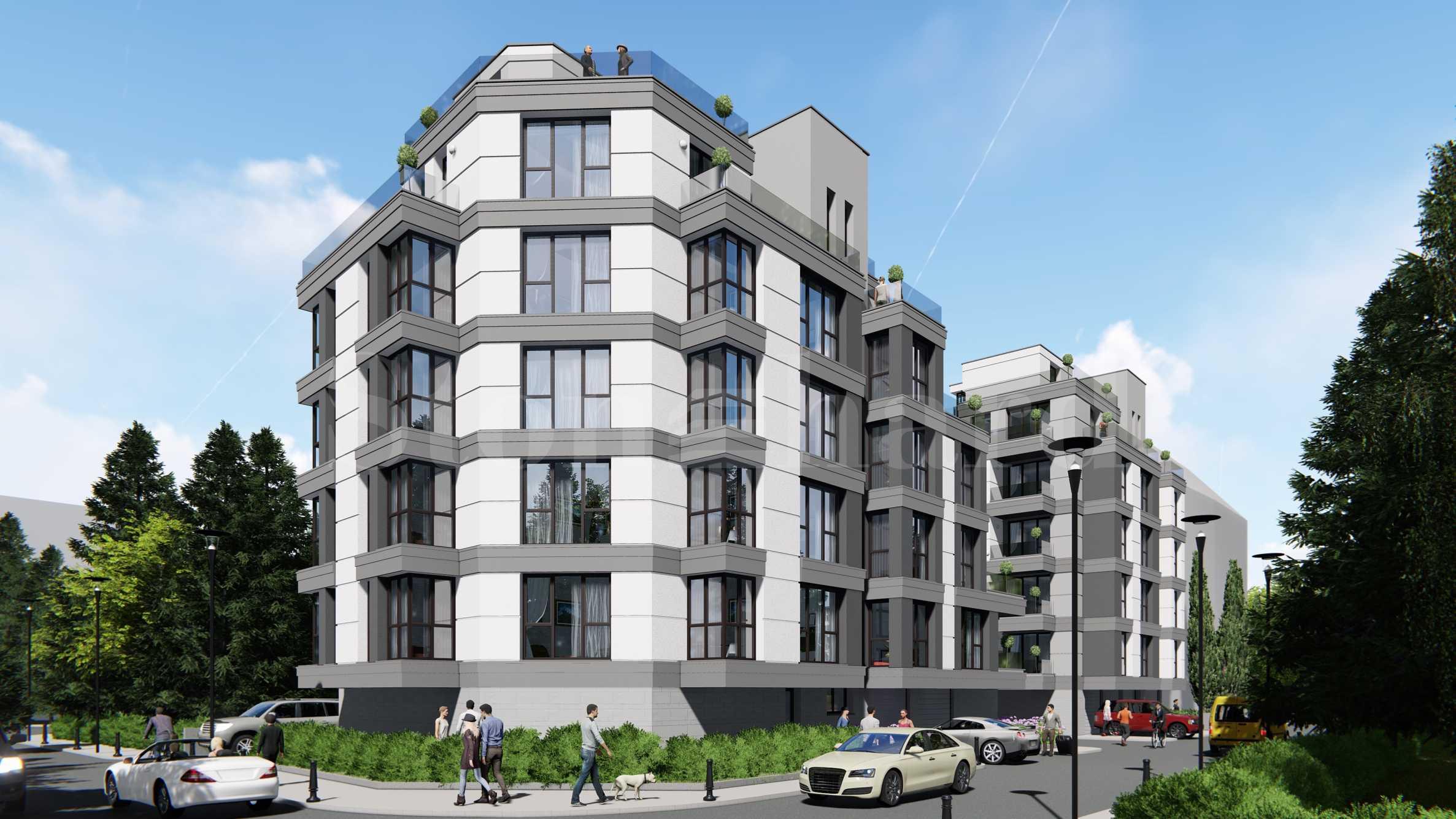 Новострояща се сграда в кв. Витоша1 - Stonehard