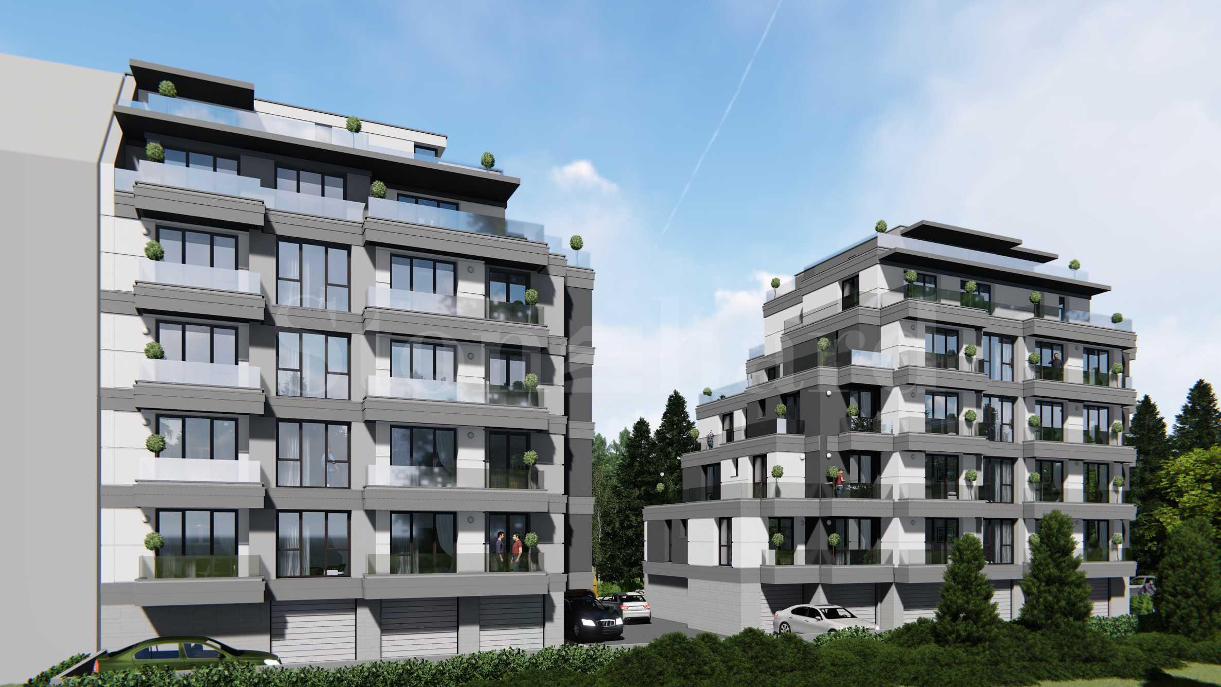 Новострояща се сграда в кв. Витоша2 - Stonehard