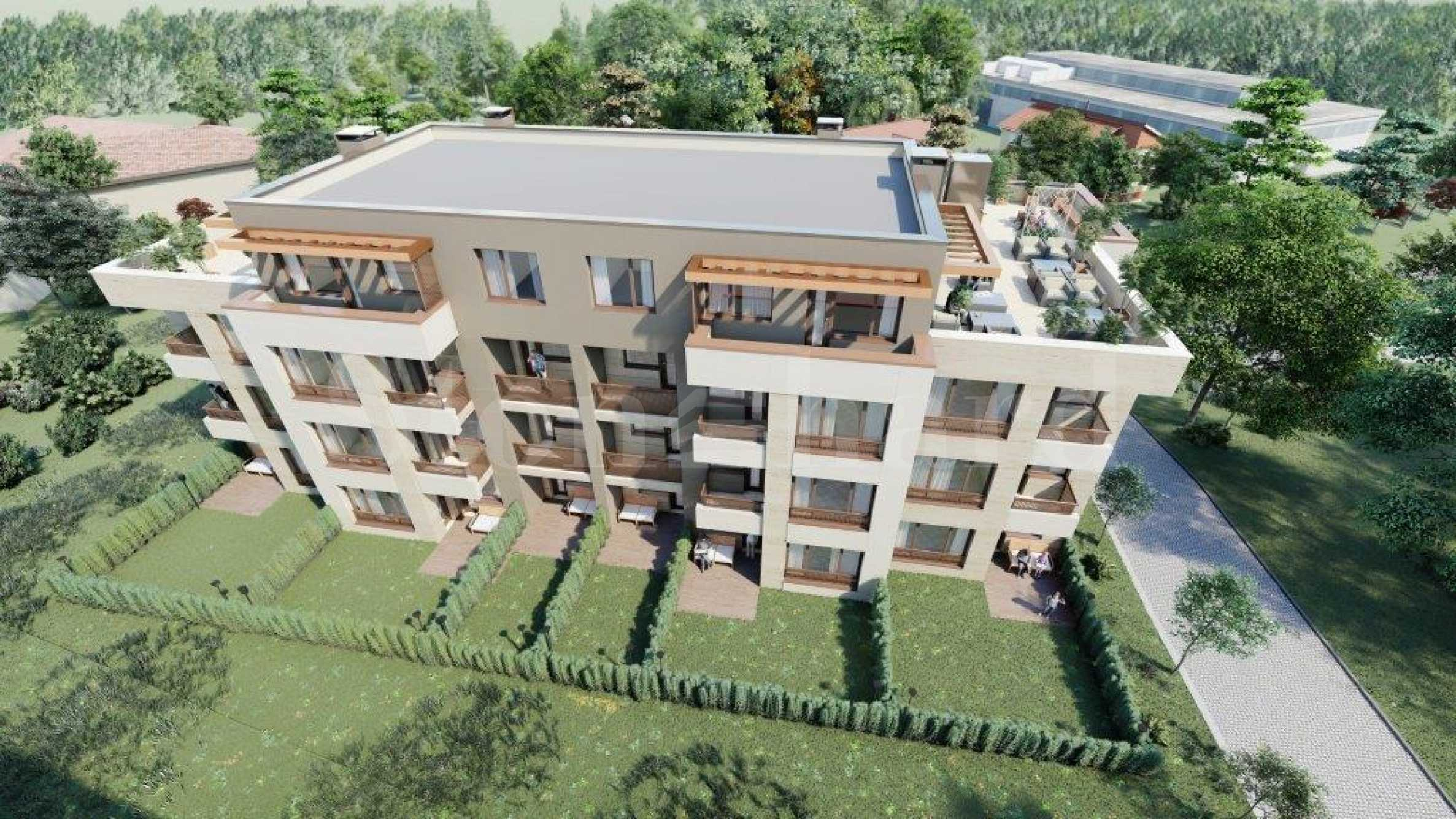 New residential building with four floors and wonderful views, located in Vitosha1 - Stonehard