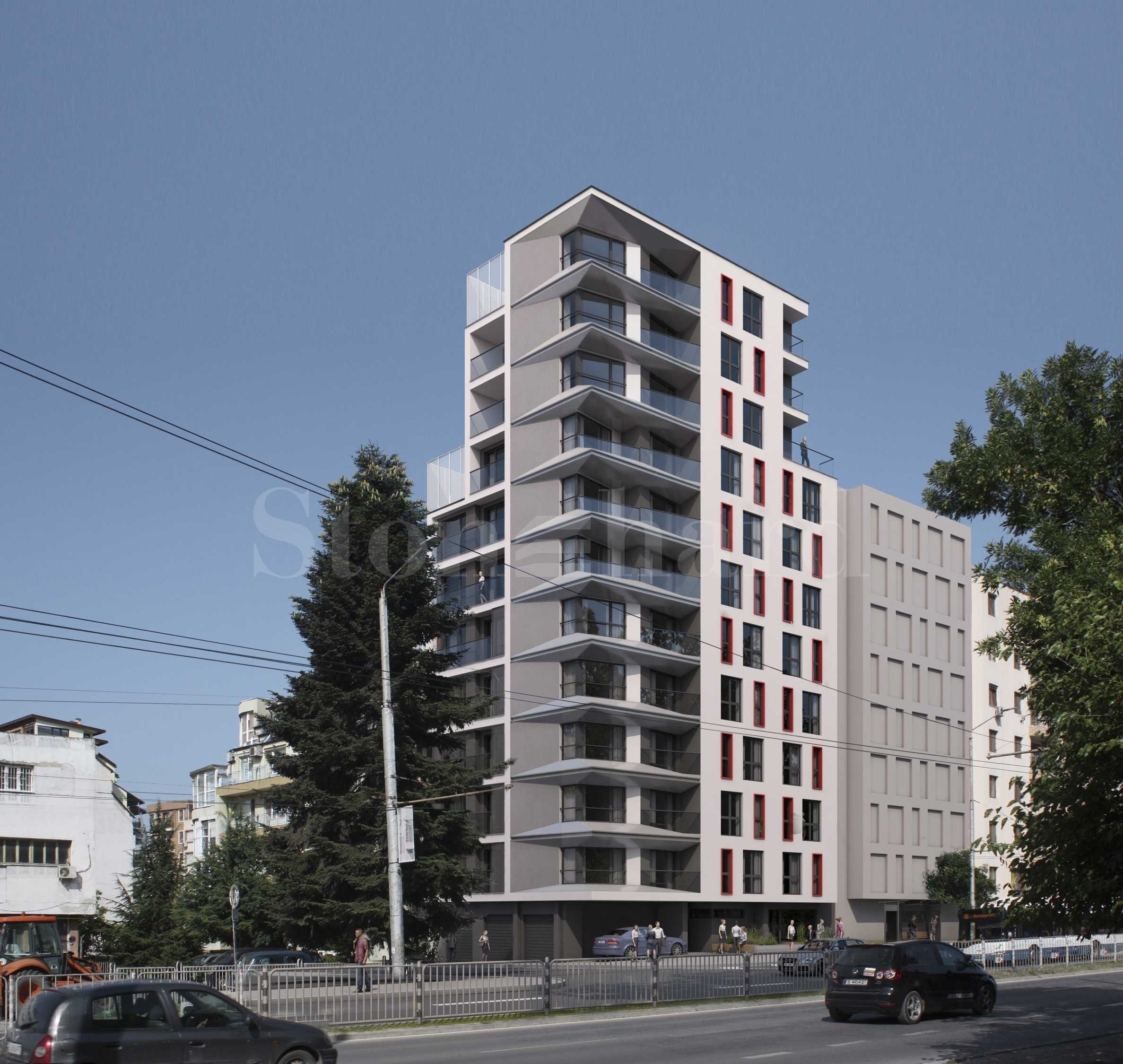 Apartments in an attractive building near the Grand Mall Varna2 - Stonehard
