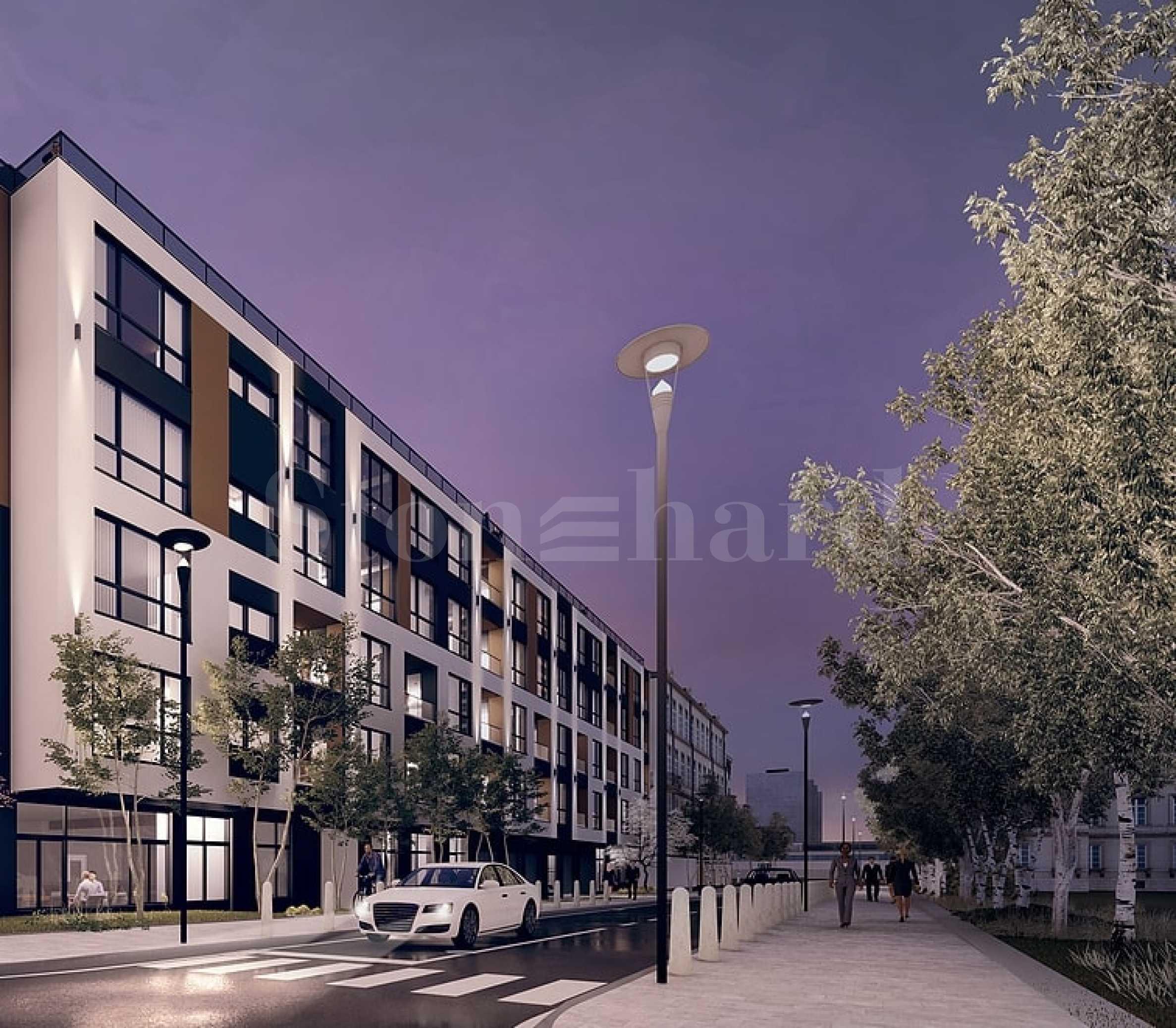 New apartments near metro station