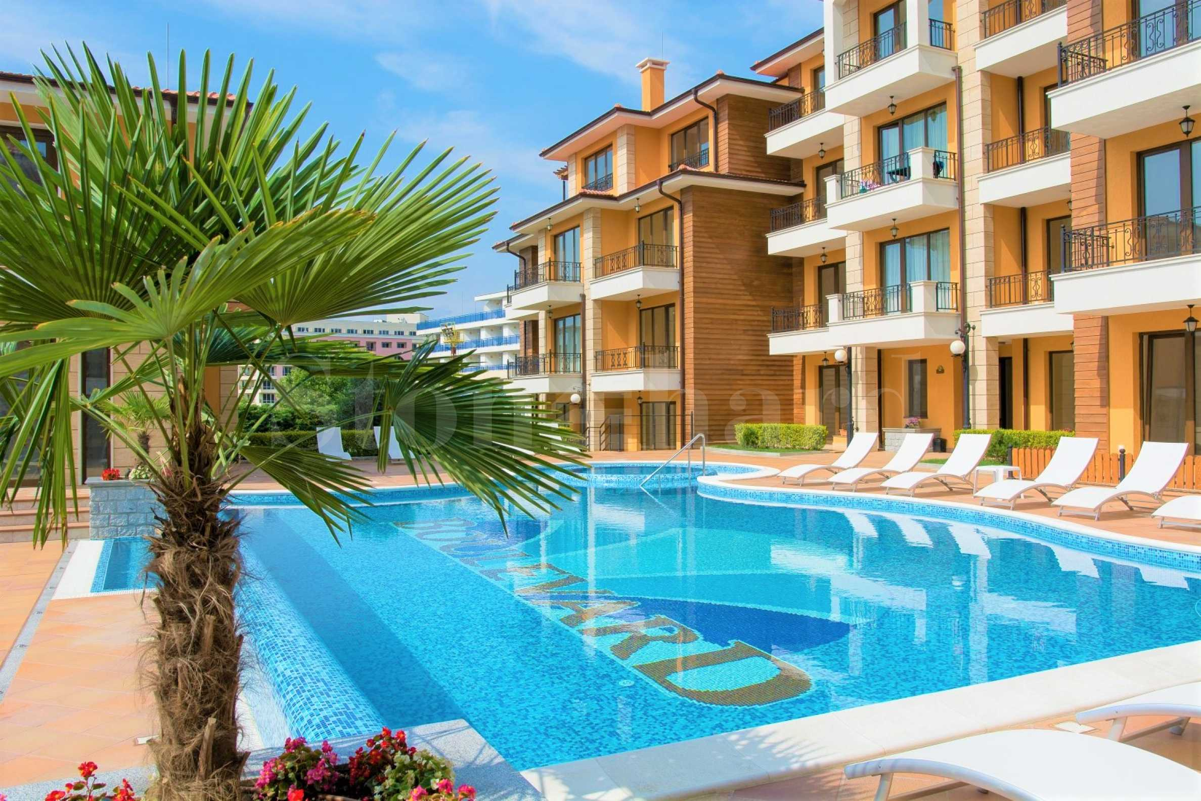 First-rate complex with new turnkey apartments near the beach of Sunny Beach1 - Stonehard