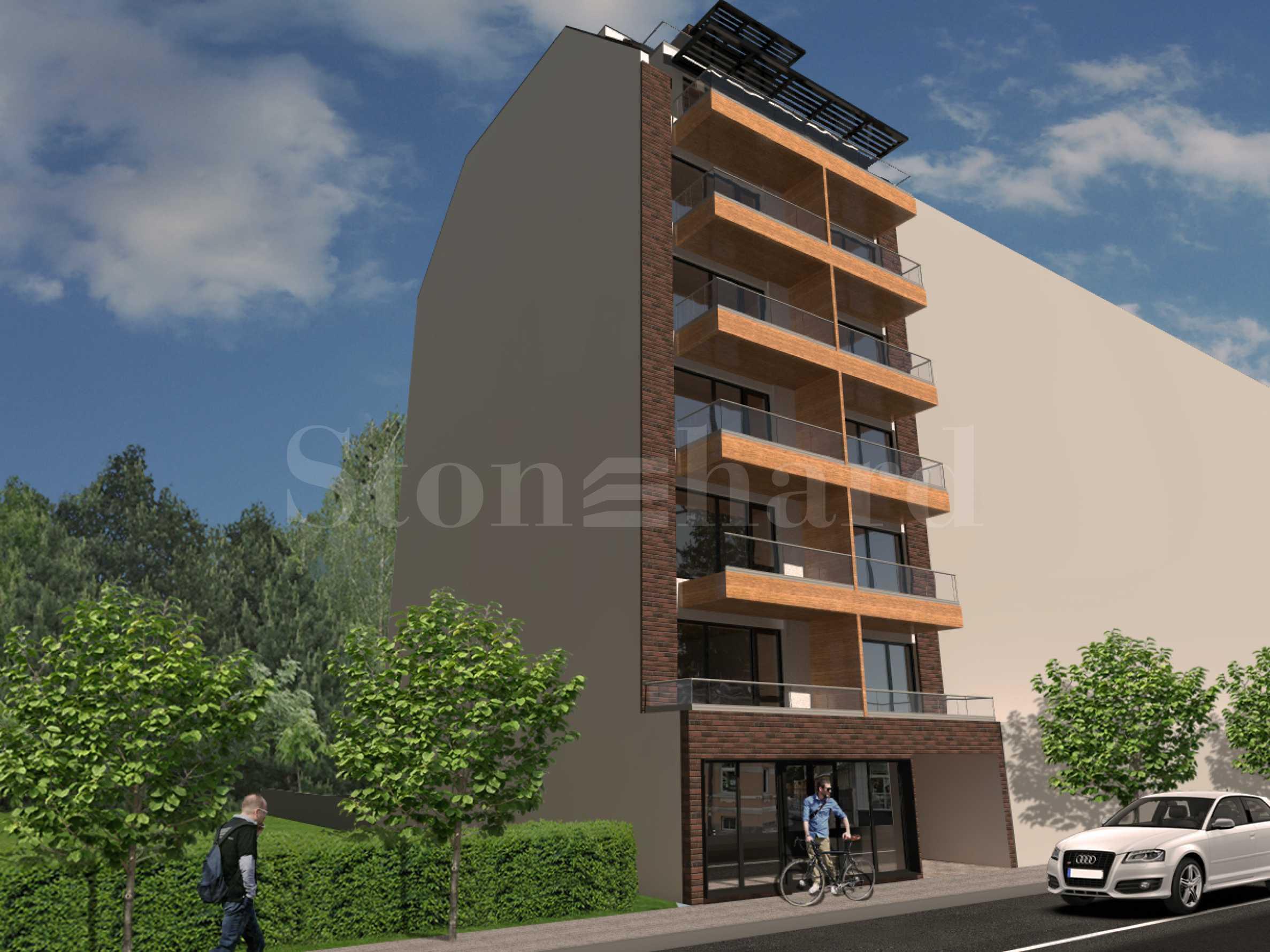 Високоетажна жилищна сграда с двустайни апартаменти в широкия център1 - Stonehard