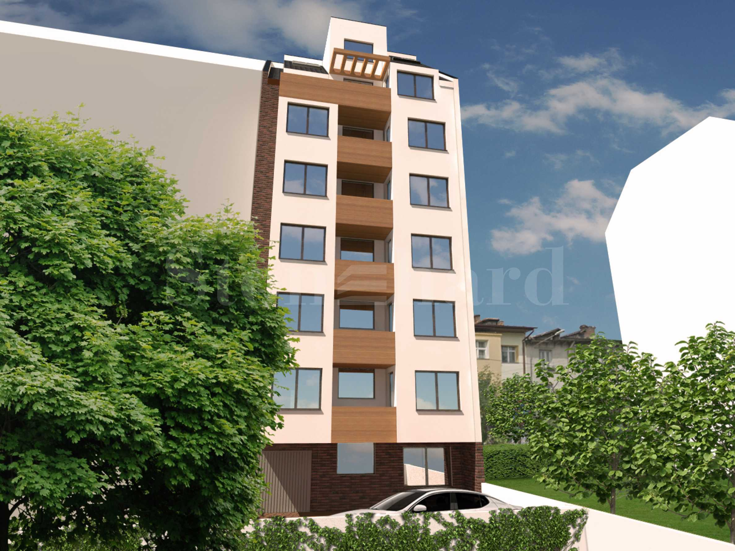 High-rise residential building with one-bedroom apartments in the wide center2 - Stonehard