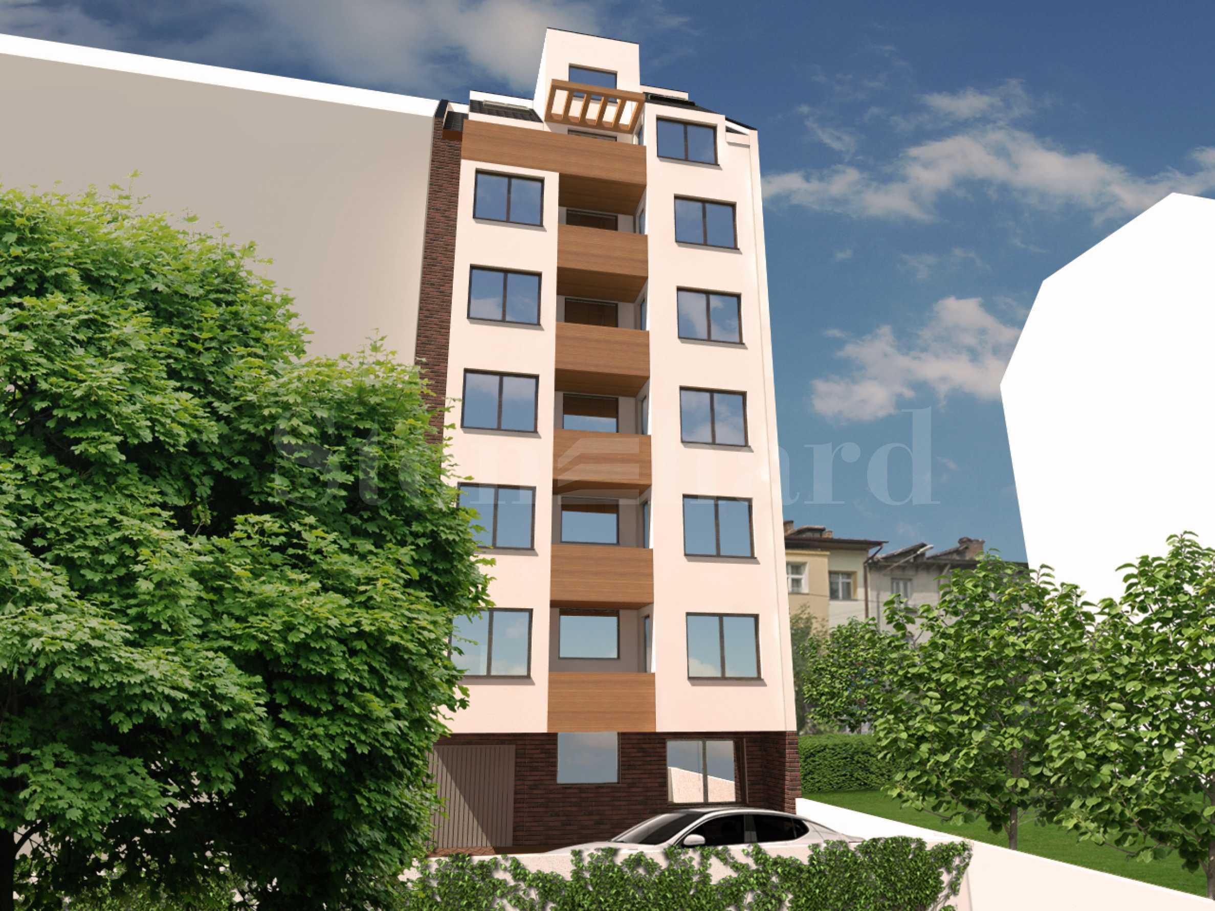 Високоетажна жилищна сграда с двустайни апартаменти в широкия център2 - Stonehard