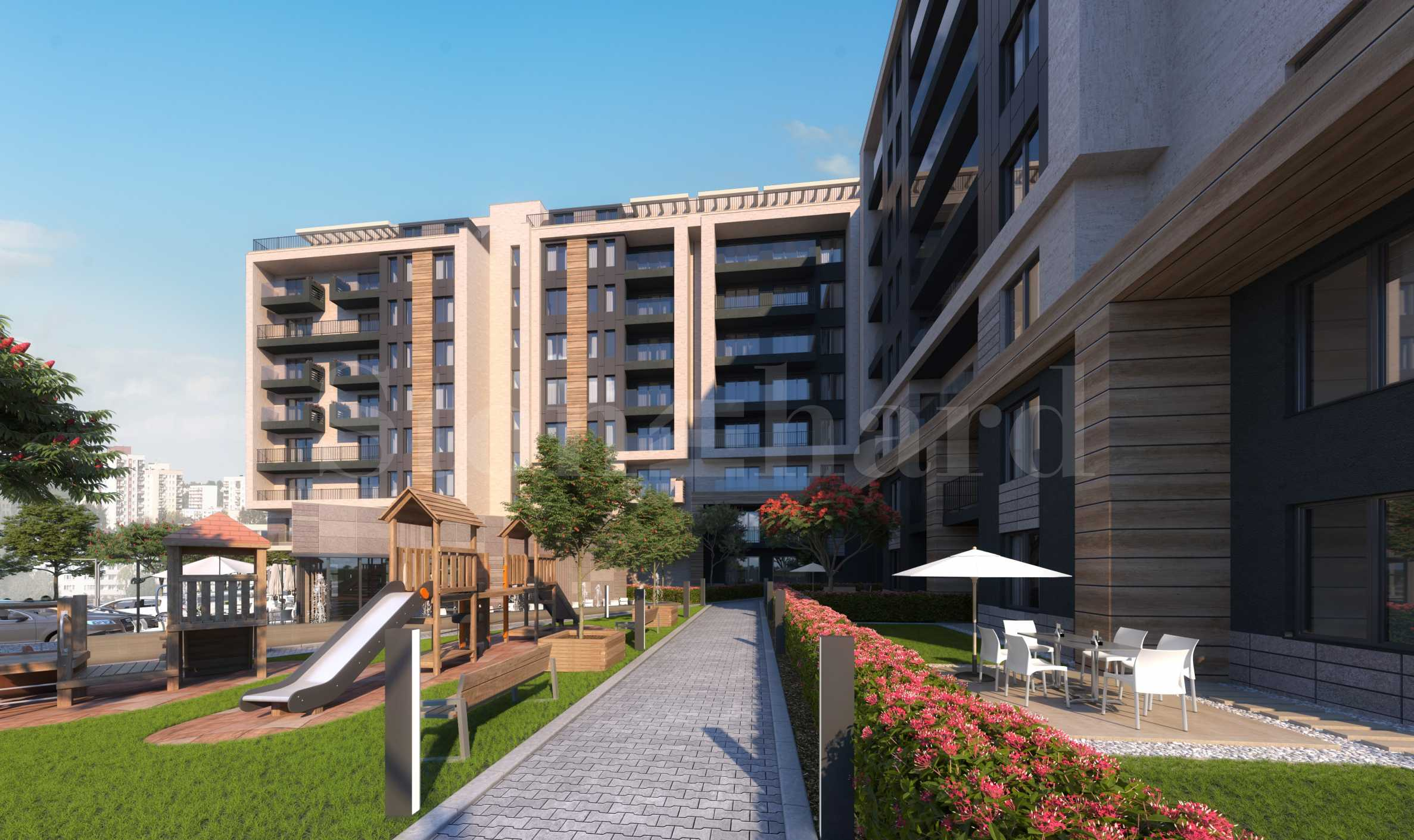 Closed residential complex with the latest apartments at the foot of Vitosha Mountain2 - Stonehard