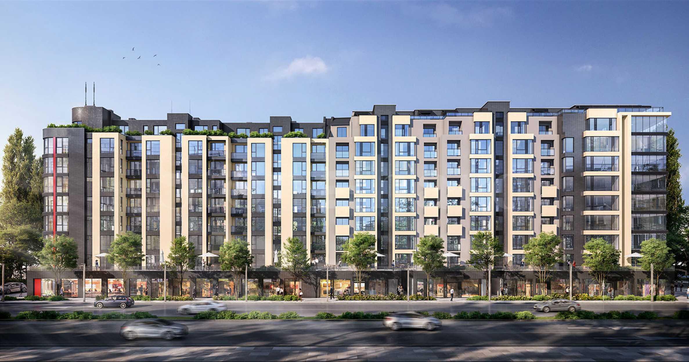 Жилищна сграда напреднало строителство с избор на апартаменти до Mall Bulgaria1 - Stonehard