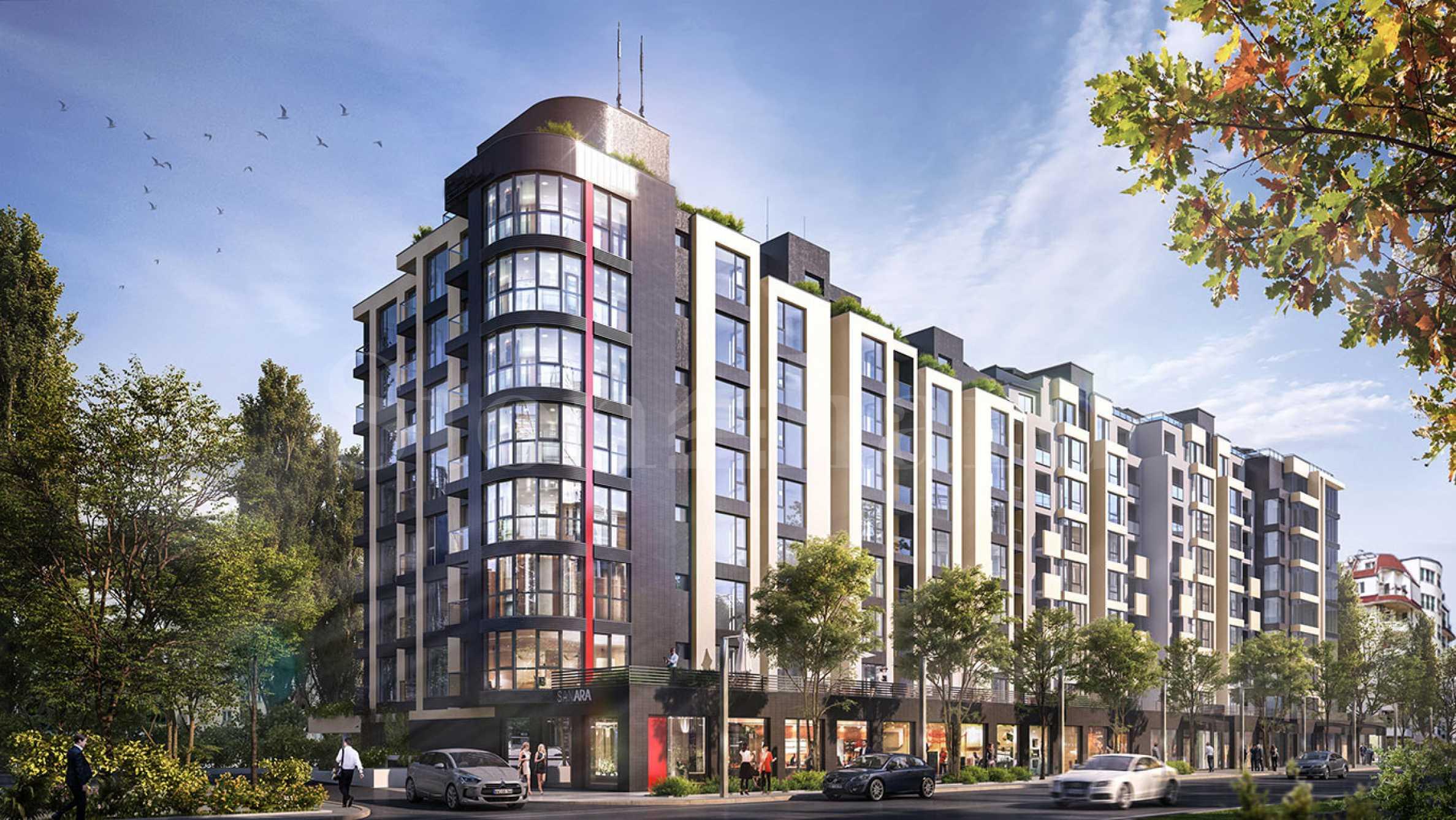Жилищна сграда напреднало строителство с избор на апартаменти до Mall Bulgaria2 - Stonehard