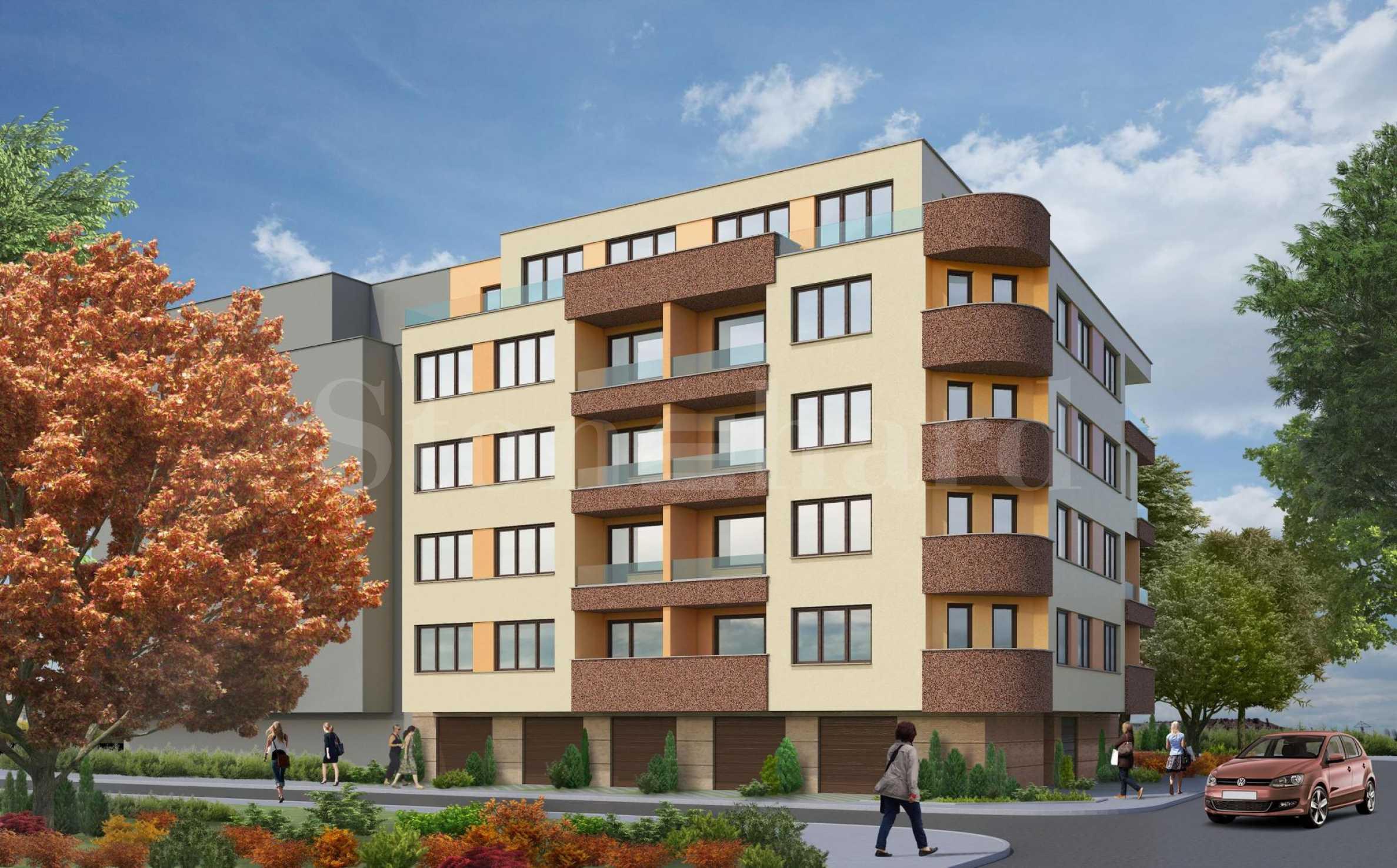New residential building in the beginning of Hadji Dimitar1 - Stonehard