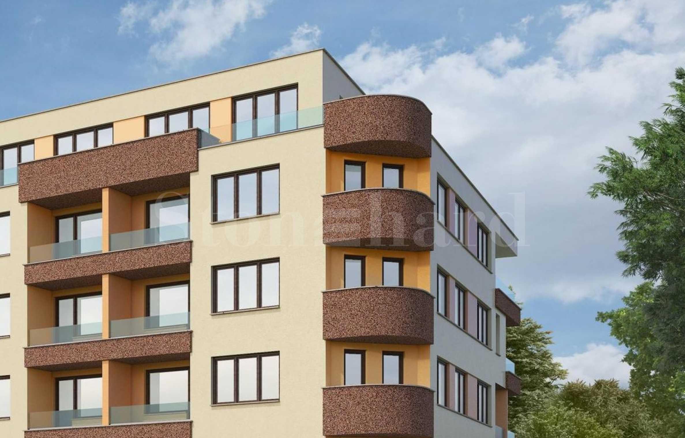 New residential building in the beginning of Hadji Dimitar2 - Stonehard
