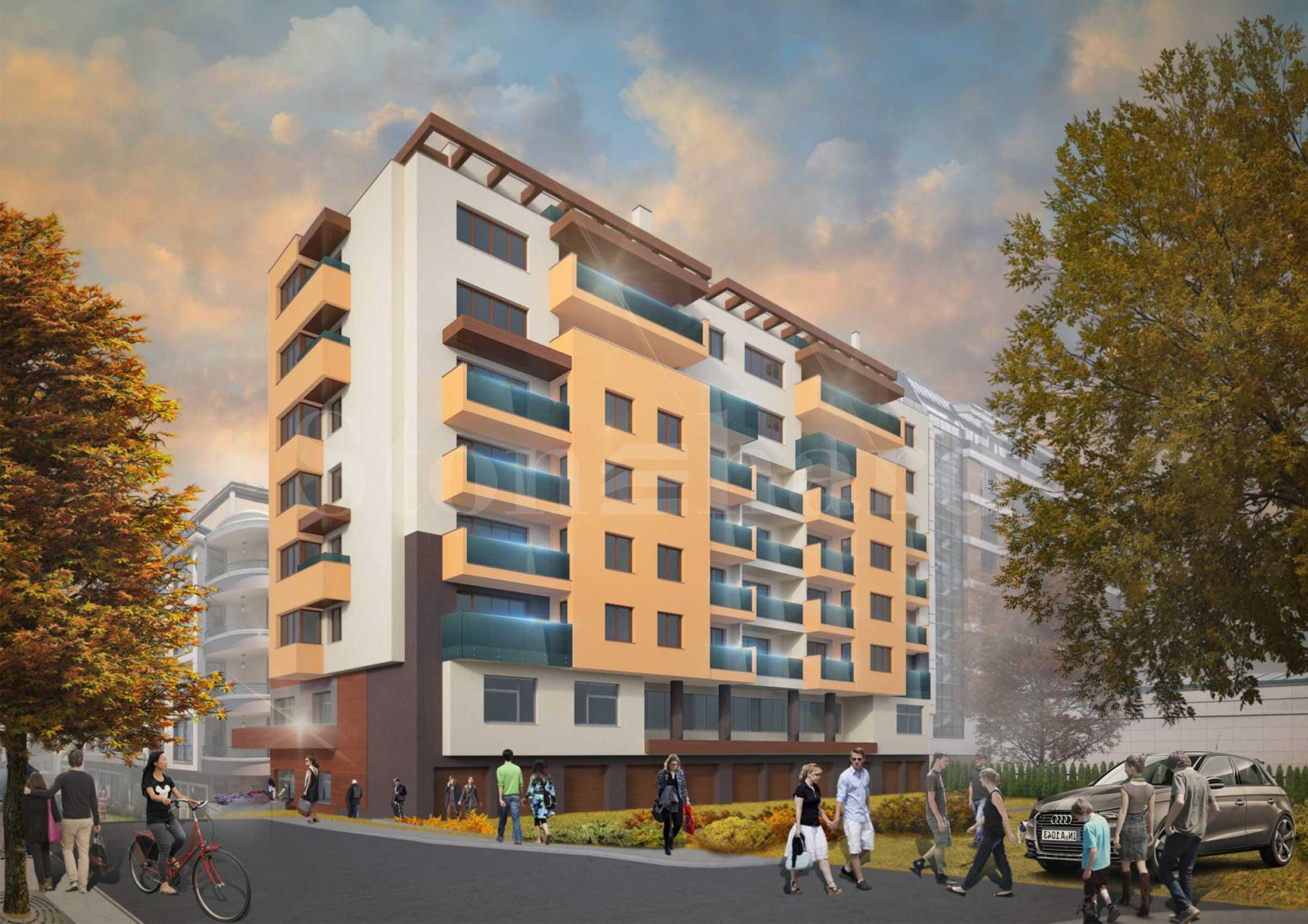 Нова жилищна сграда с магазин, аптека и медицински център2 - Stonehard