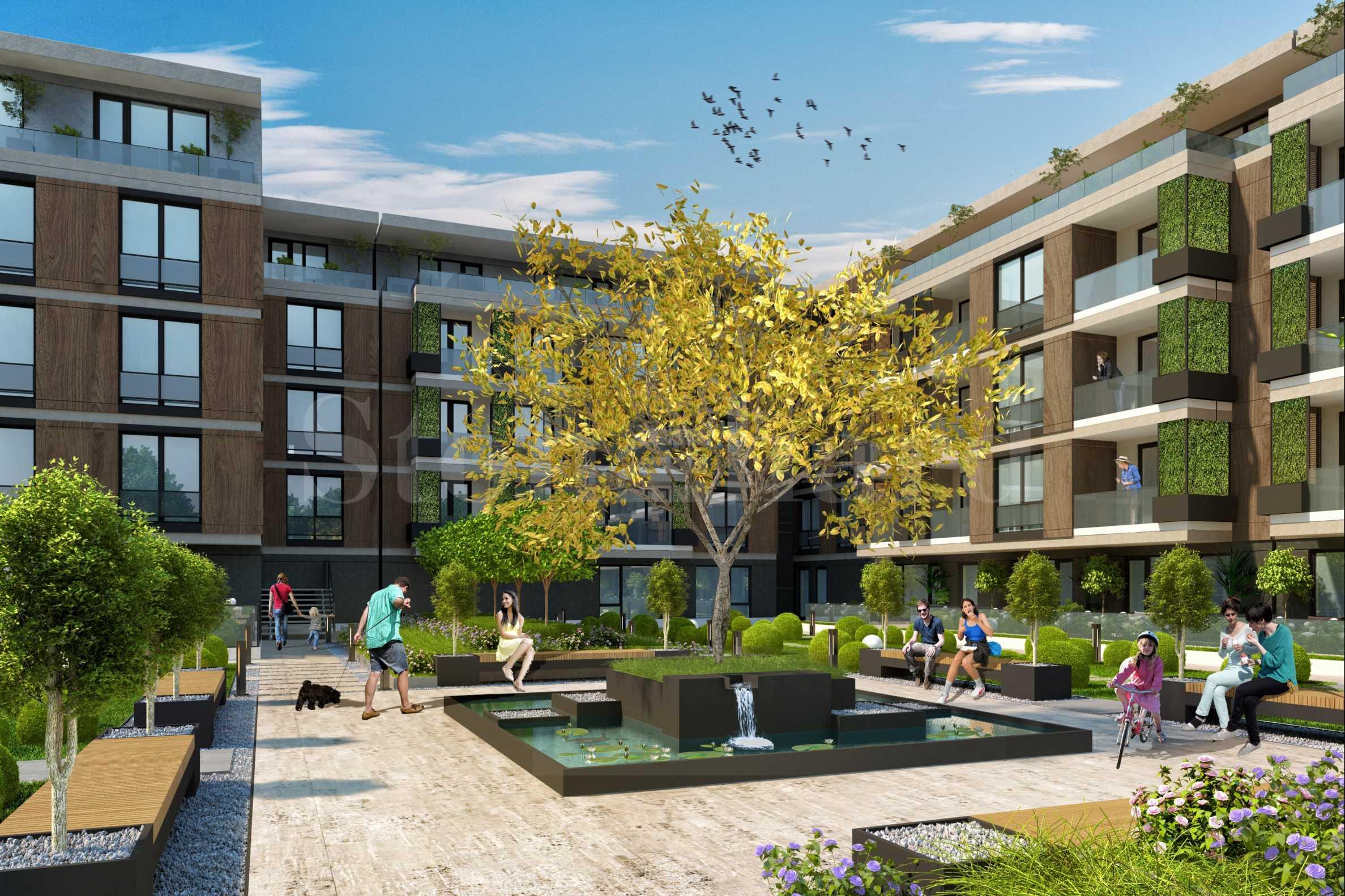 Апартаменти в луксозен комплекс до Гребната база1 - Stonehard