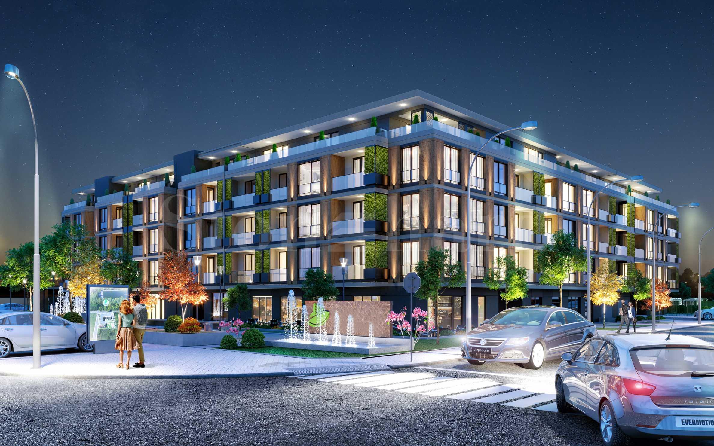 Апартаменти в луксозен комплекс до Гребната база2 - Stonehard
