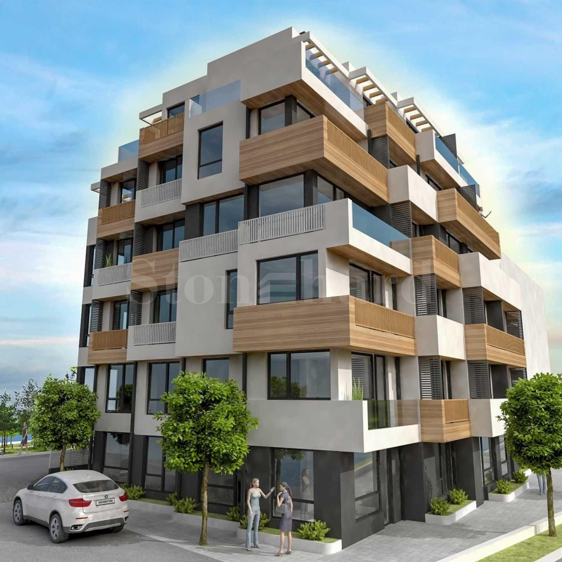 Нова бутикова сграда в кв. Бриз 1 - Stonehard