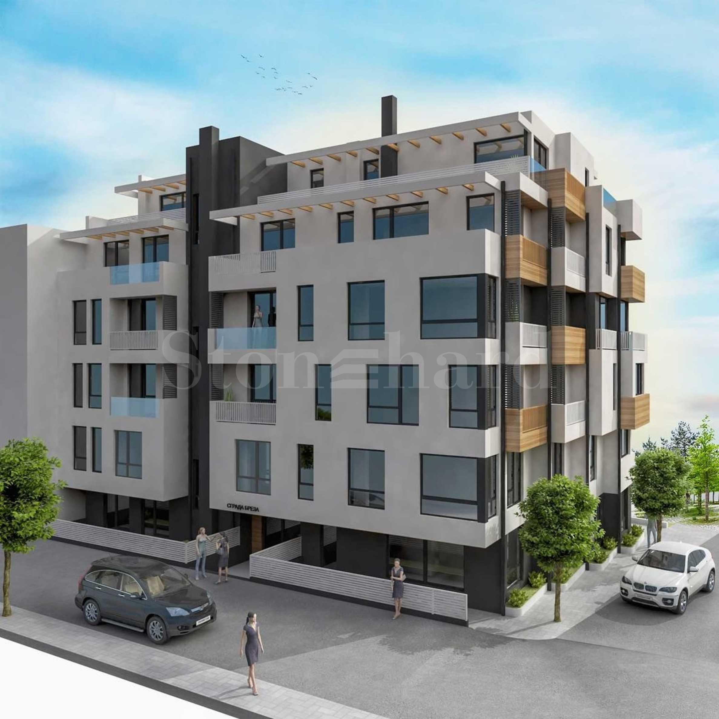 Нова бутикова сграда в кв. Бриз 2 - Stonehard