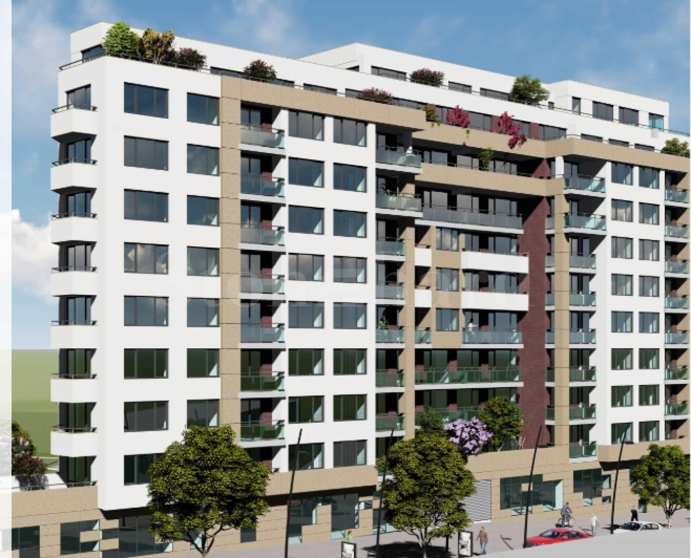 Апартаменти в нова сграда с елегантна визия в район Чаталджа1 - Stonehard