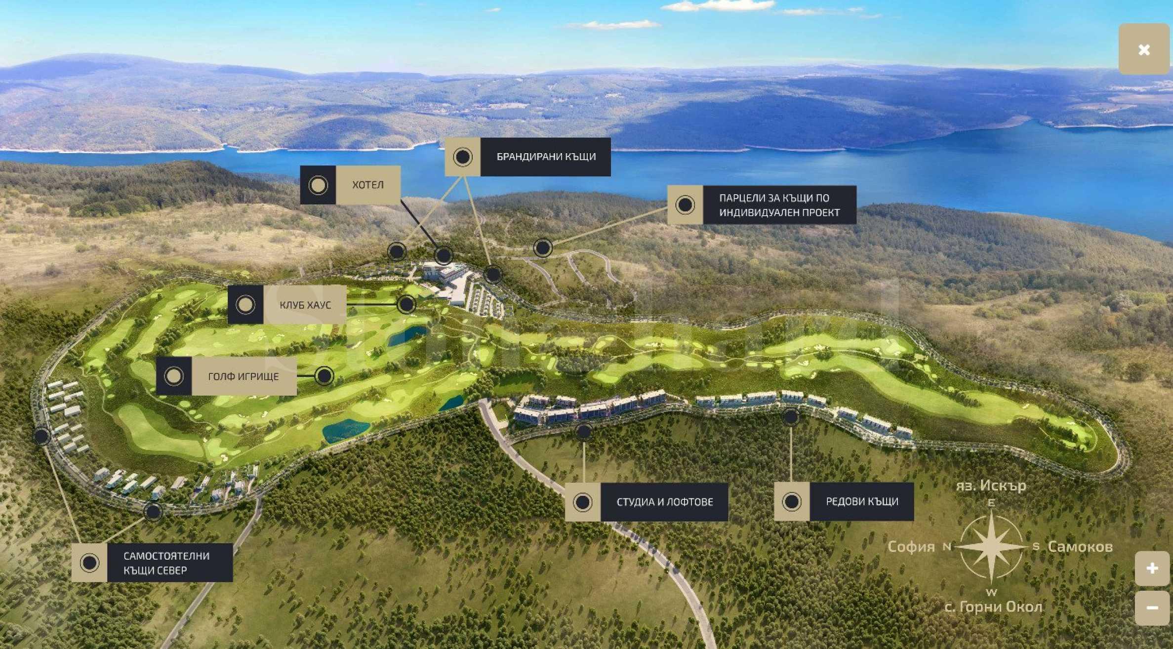 Okol Lake Park- A large-scale residential project near Iskar Dam1 - Stonehard