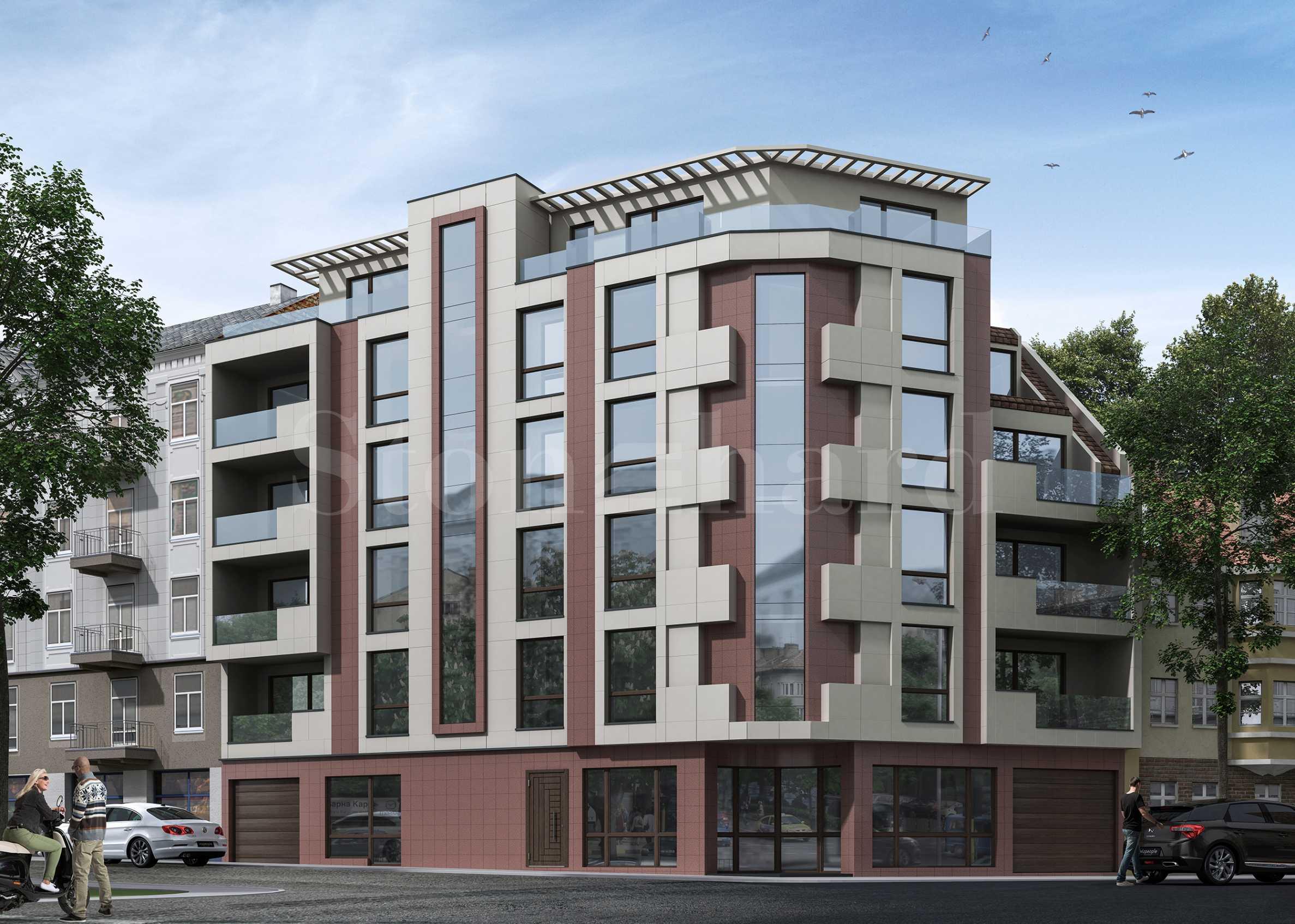 Сграда с модерна визия с апартаменти и паркоместа в центъра на Варна1 - Stonehard