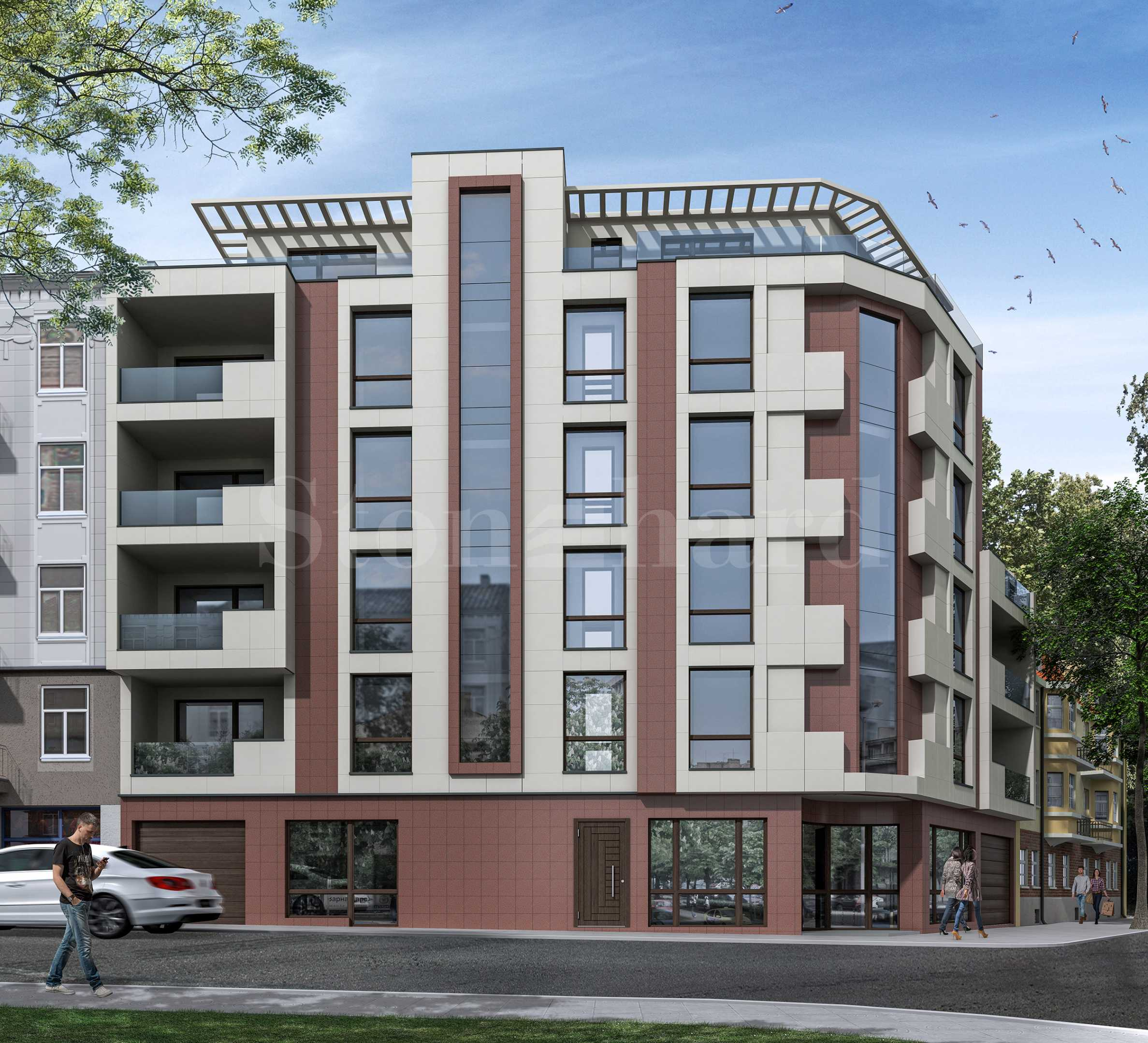 New building with a modern vision with practical apartments and parking spaces in the center of Varna2 - Stonehard
