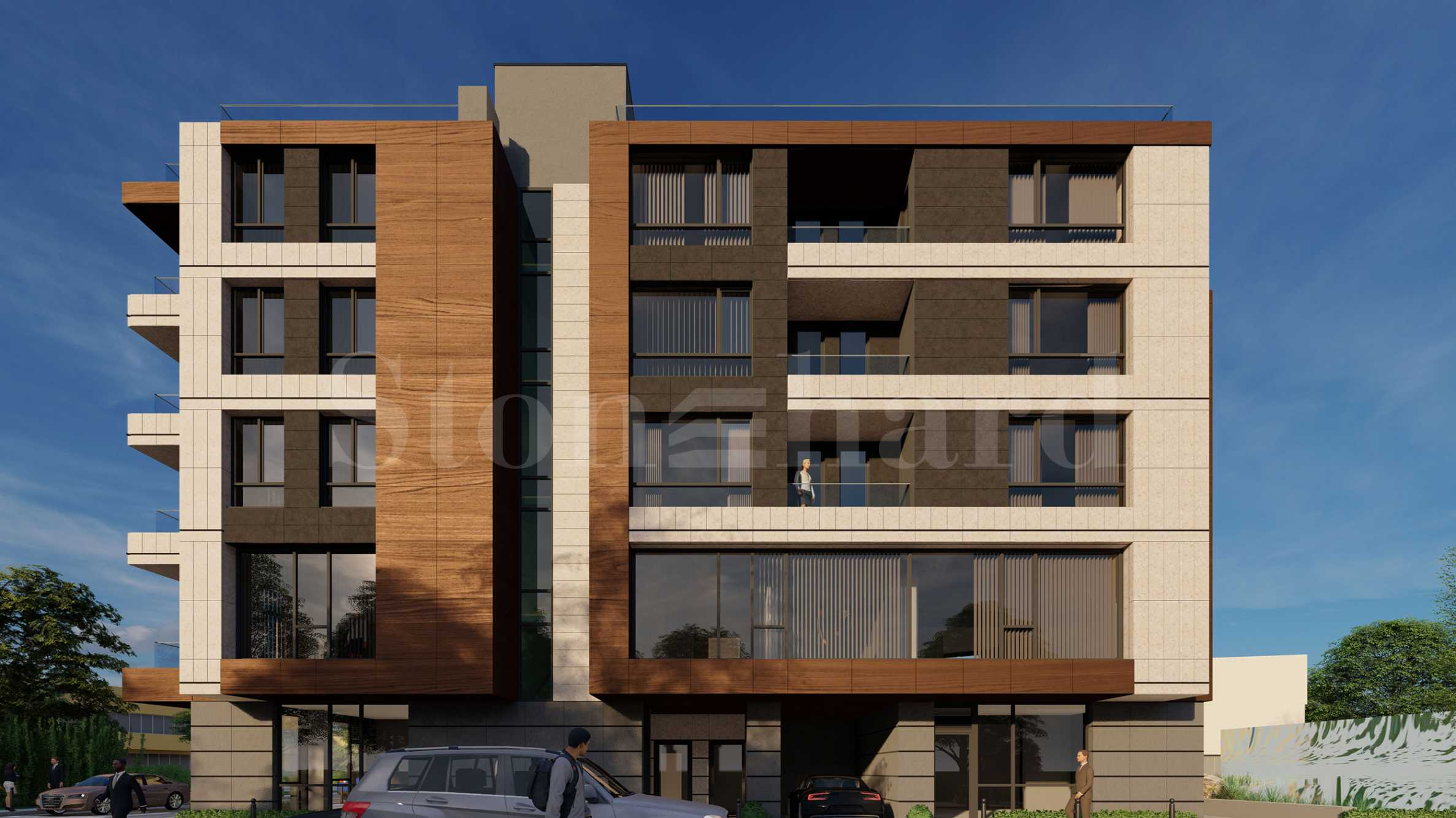 New, luxury residential building in the capital's Iztok district1 - Stonehard
