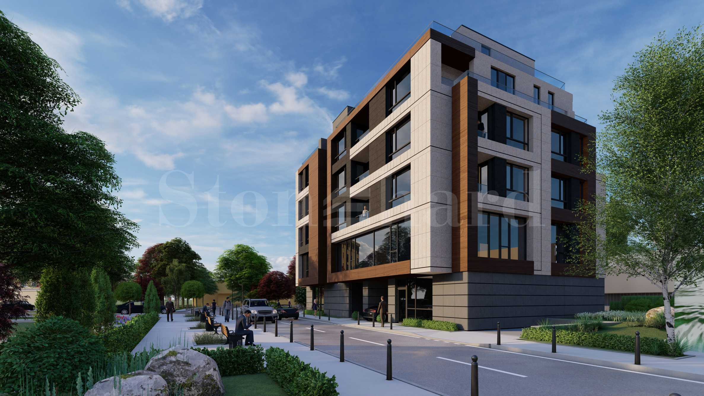 New, luxury residential building in the capital's Iztok district2 - Stonehard