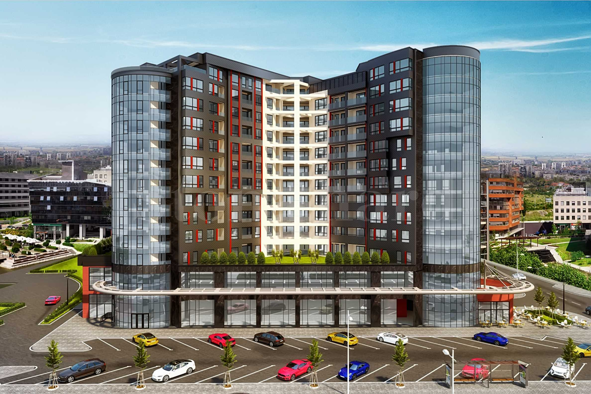 Apartments in a new building near Plovdiv mall1 - Stonehard