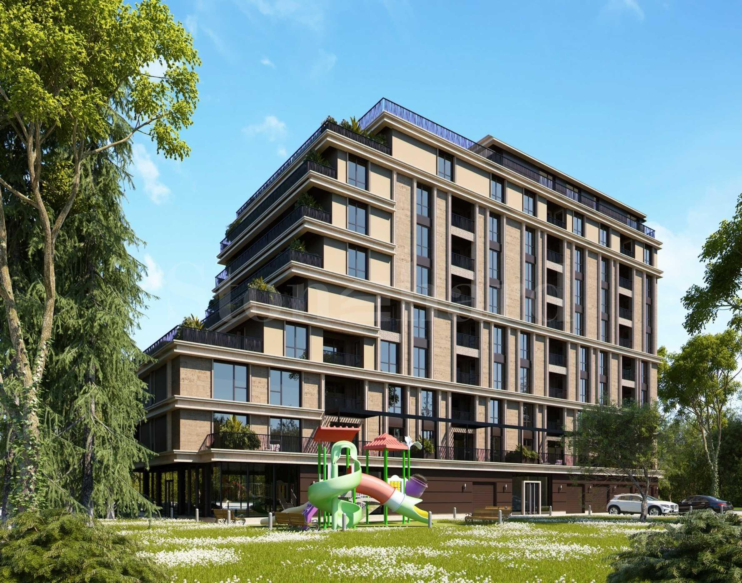 Апартаменти в нова премиум сграда до Южен парк1 - Stonehard