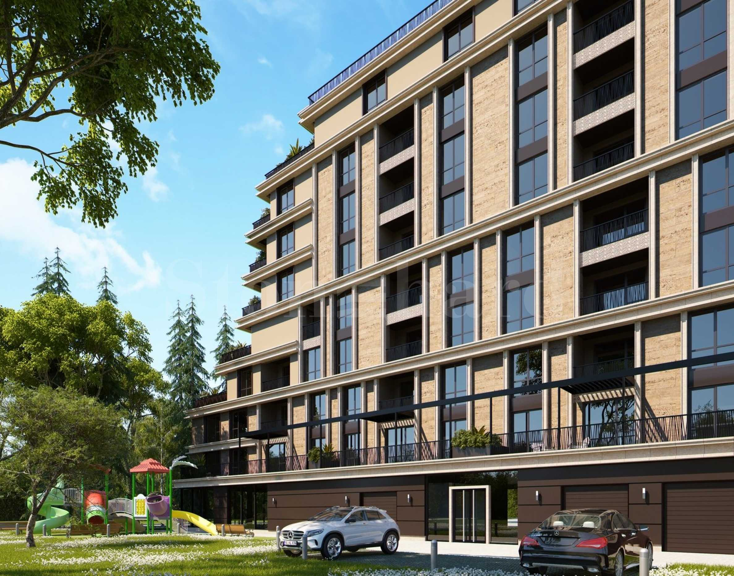 Апартаменти в нова премиум сграда до Южен парк2 - Stonehard