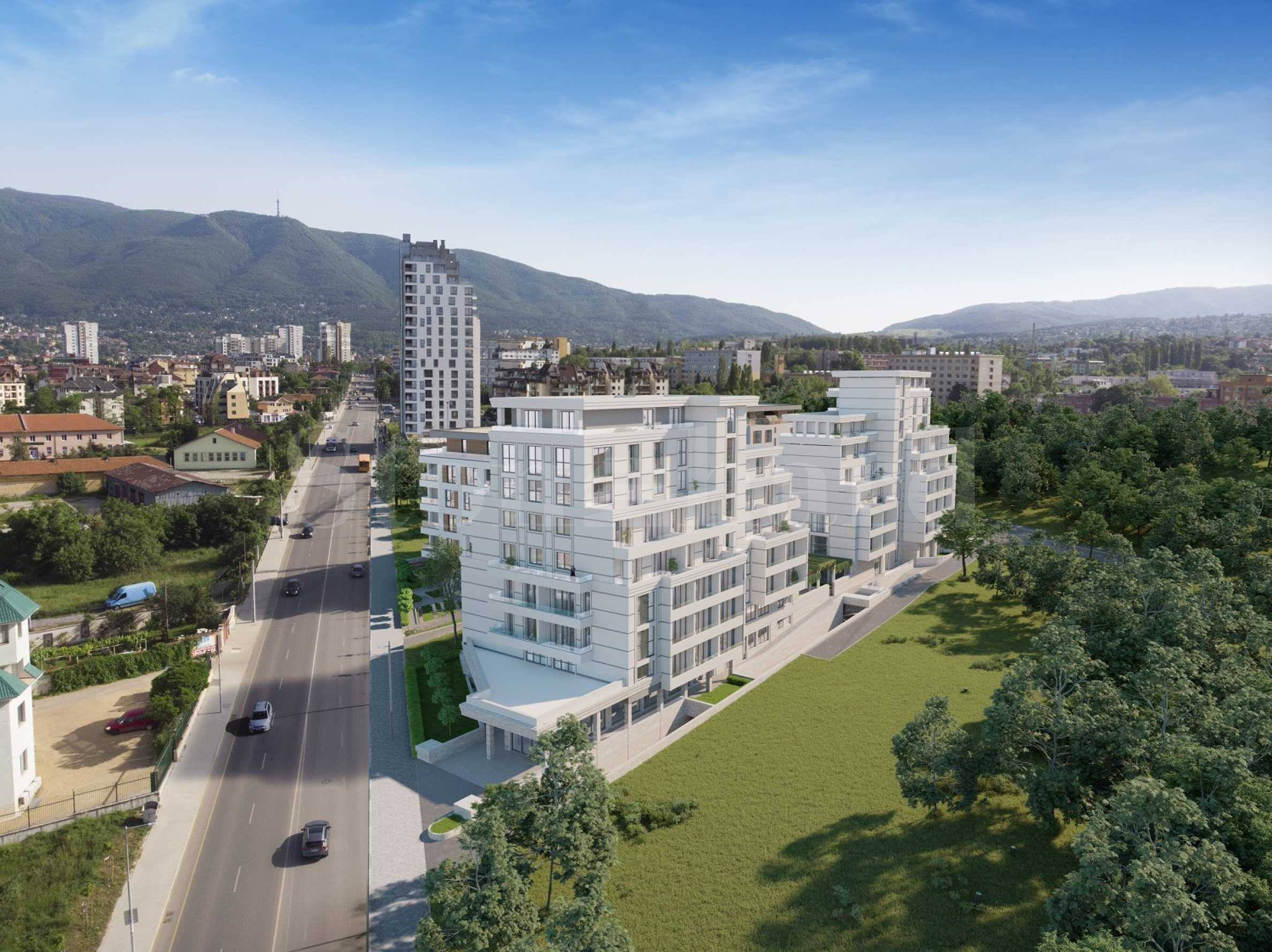 New complex of two residential buildings near NBU1 - Stonehard