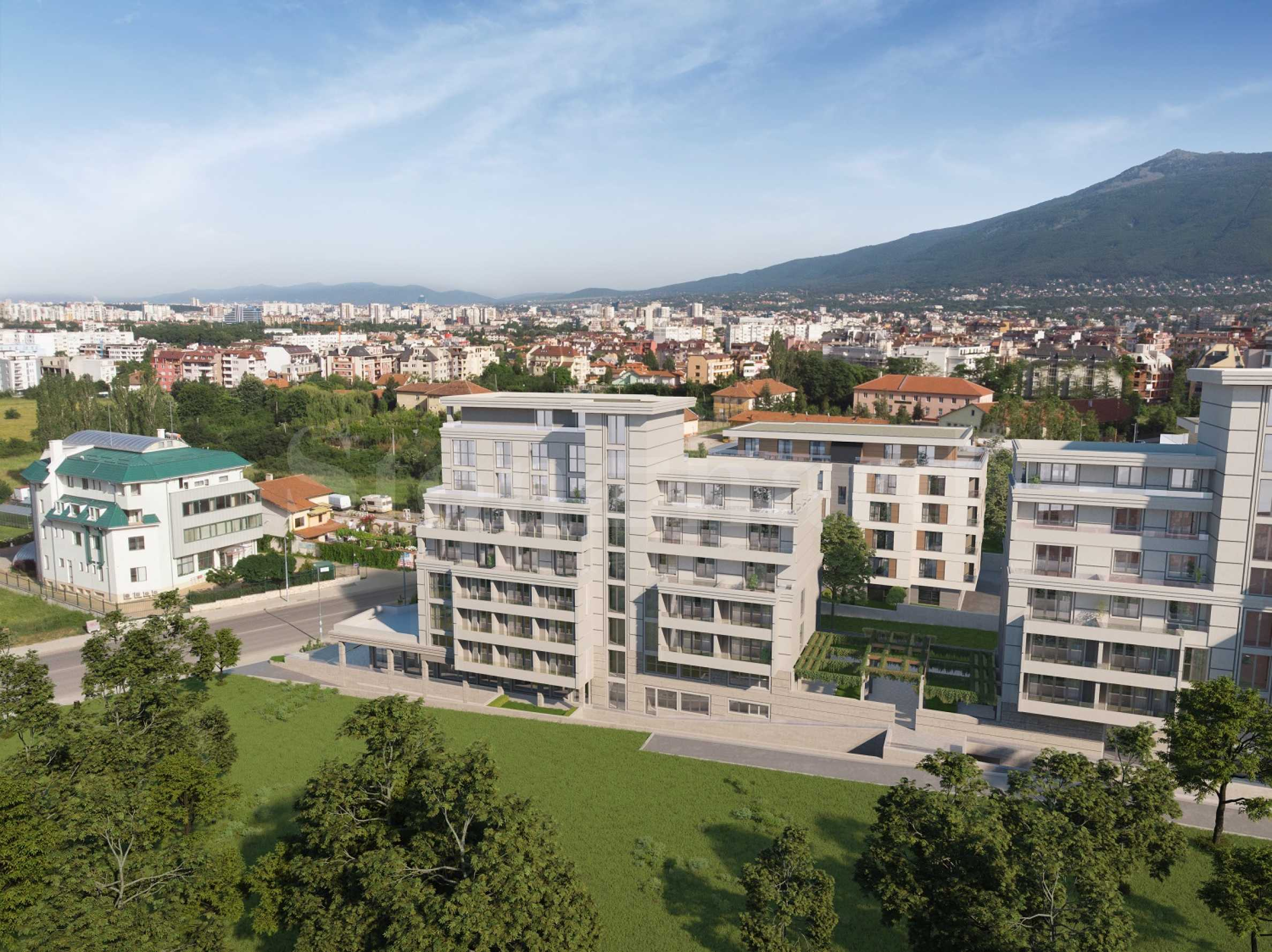 New complex of two residential buildings near NBU2 - Stonehard
