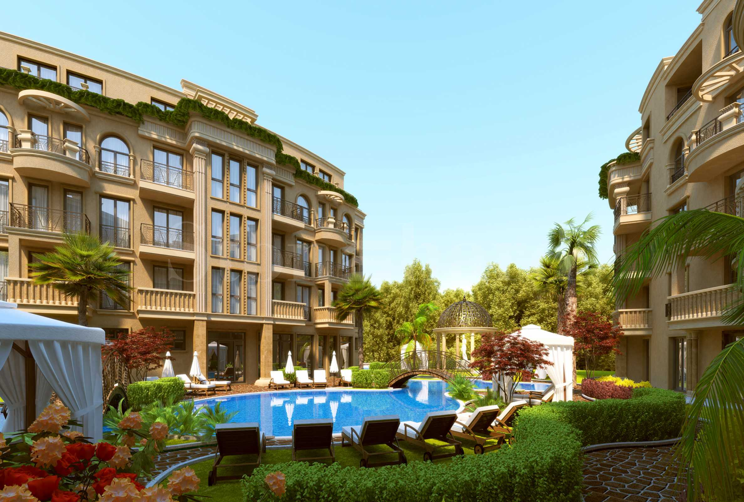 Apartments for sale in an elegant new complex with first-rate amenities in Sunny Beach resort2 - Stonehard