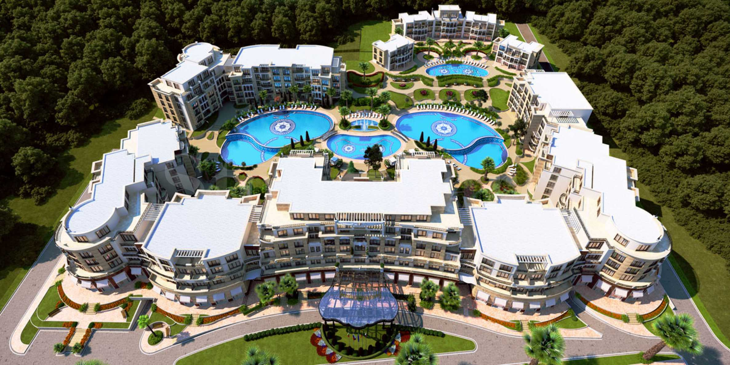 Spectacular seaside complex with apartments, VIP-houses, shops and parking spaces for sale1 - Stonehard
