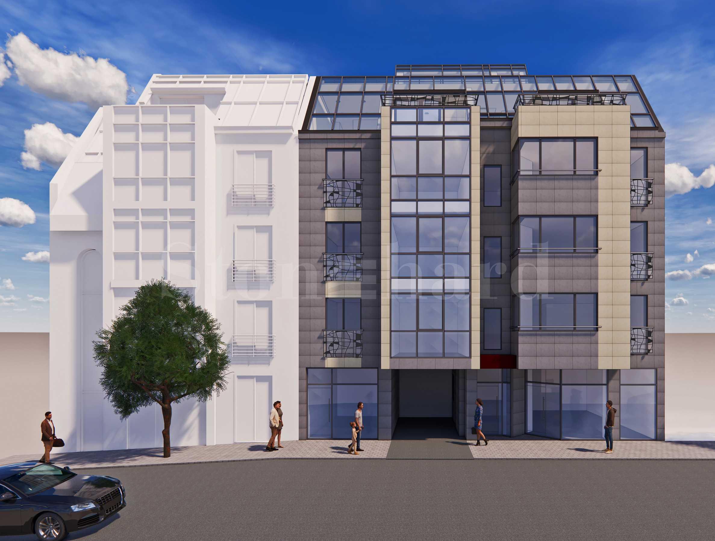 Последни апартаменти в жилищна сграда бутиково ново строителство в идеалния център1 - Stonehard