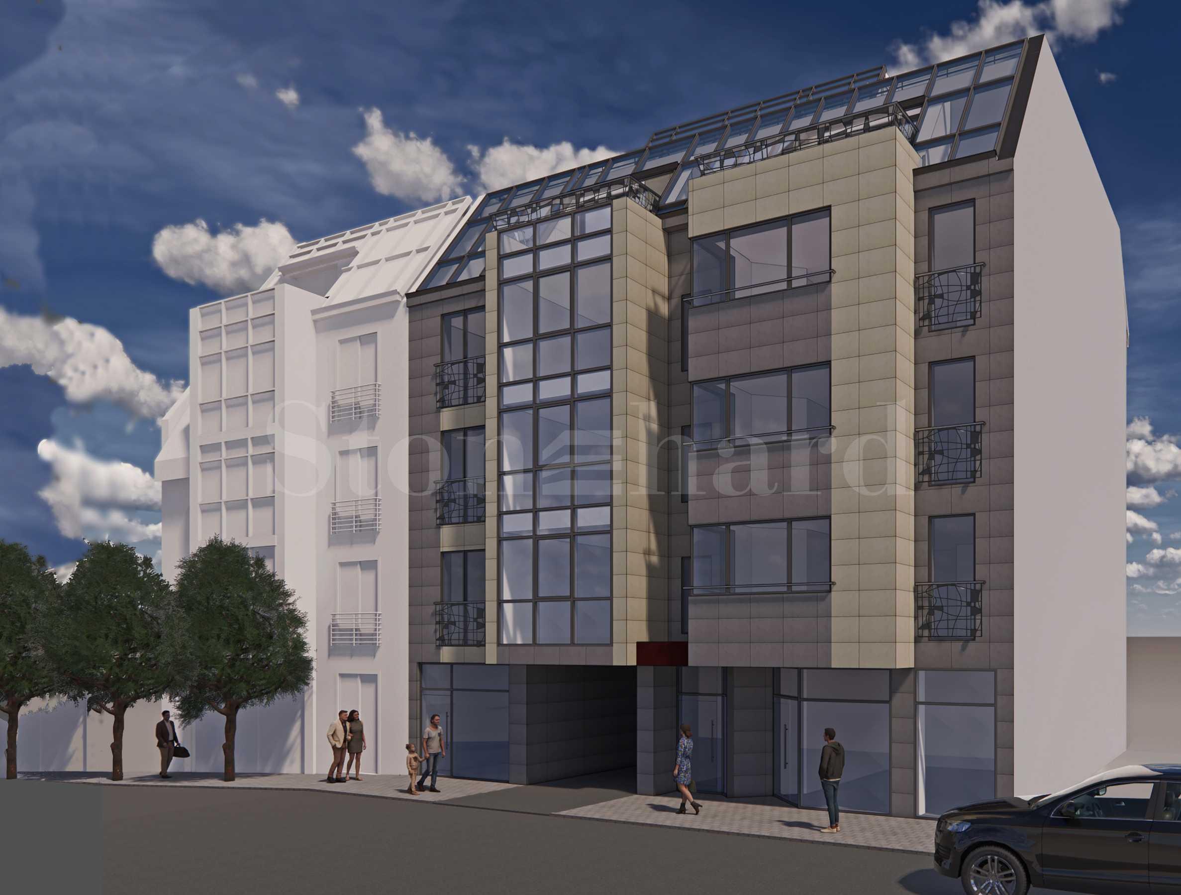 Последни апартаменти в жилищна сграда бутиково ново строителство в идеалния център2 - Stonehard