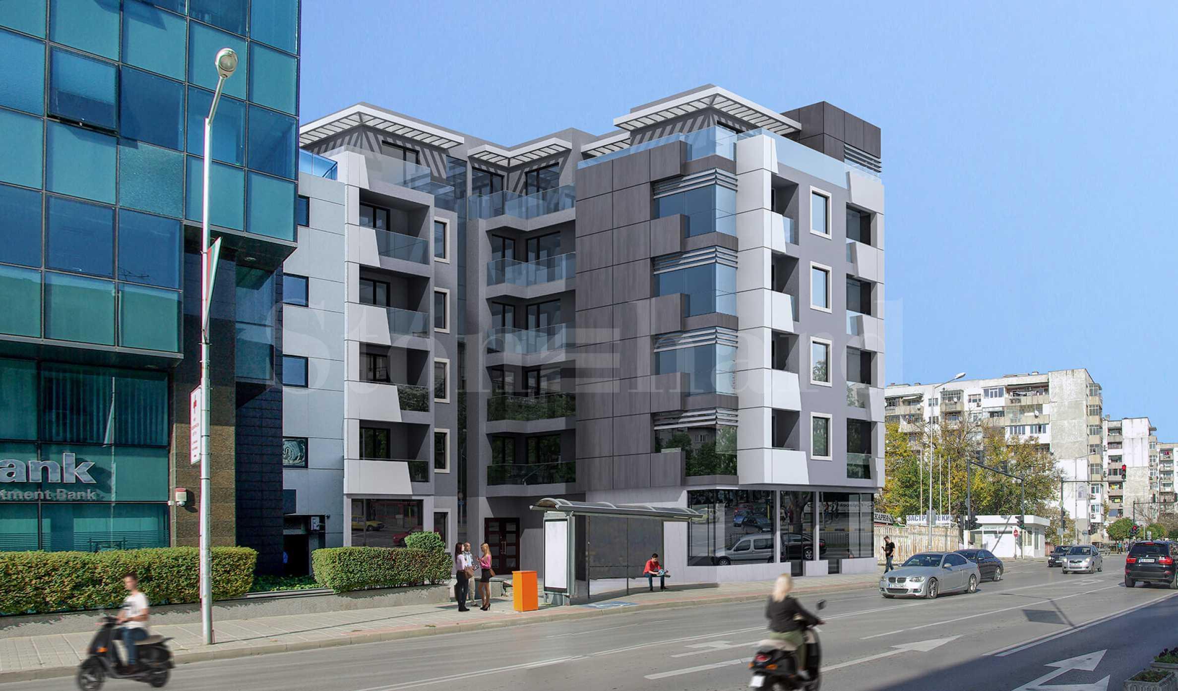 Апартаменти в нова ефектна сграда в широкия център на Варна2 - Stonehard