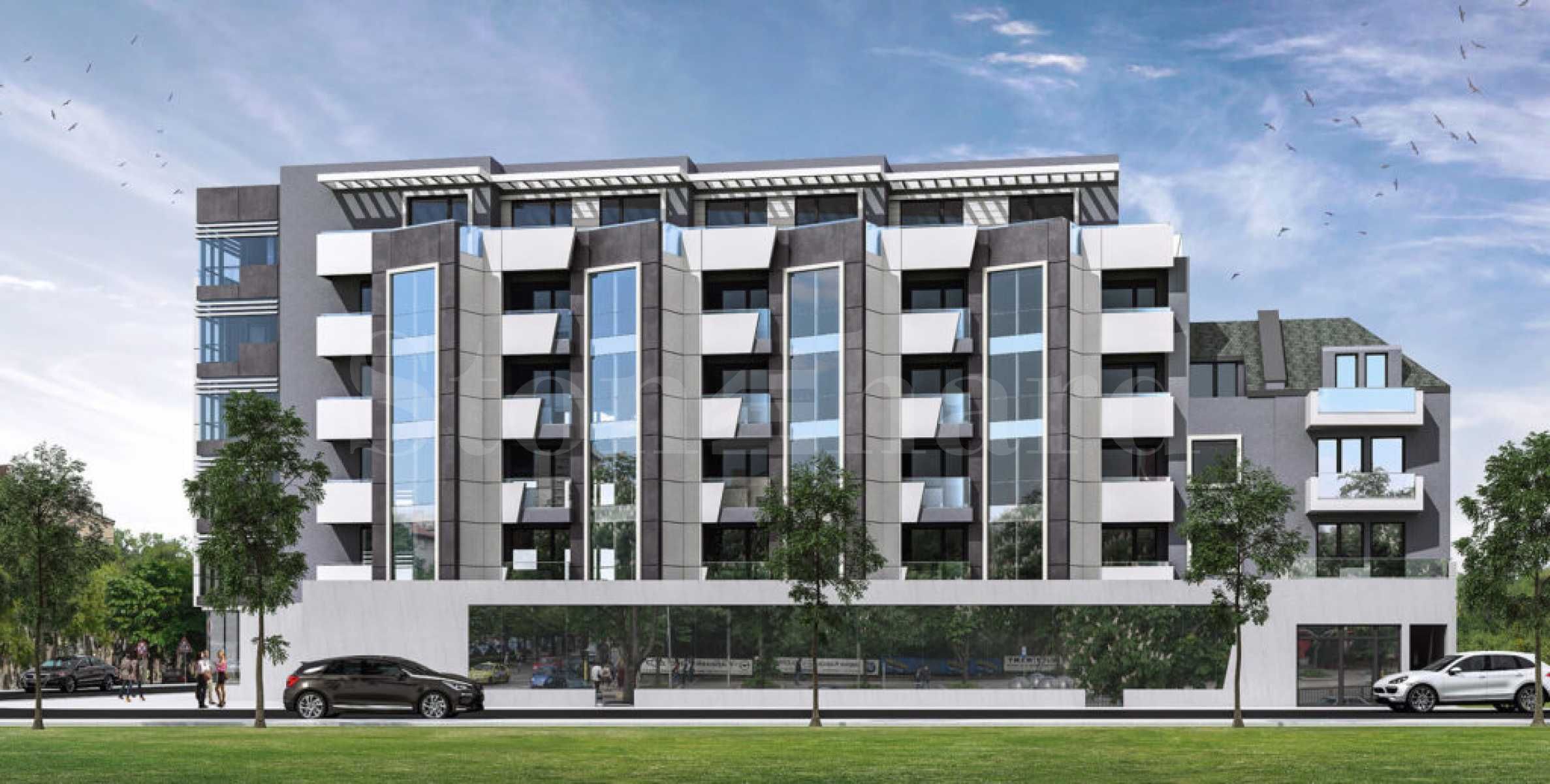 Apartments and parking spaces in a new, elite building with a modern vision in the center1 - Stonehard