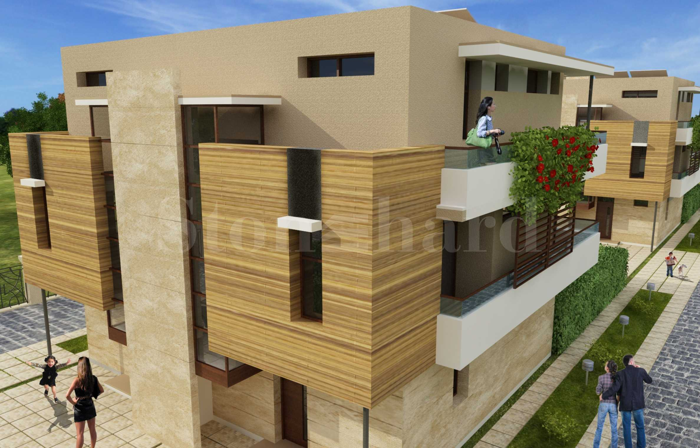 "Three-storey houses type ""twin"" - modern new construction near the beach2 - Stonehard"